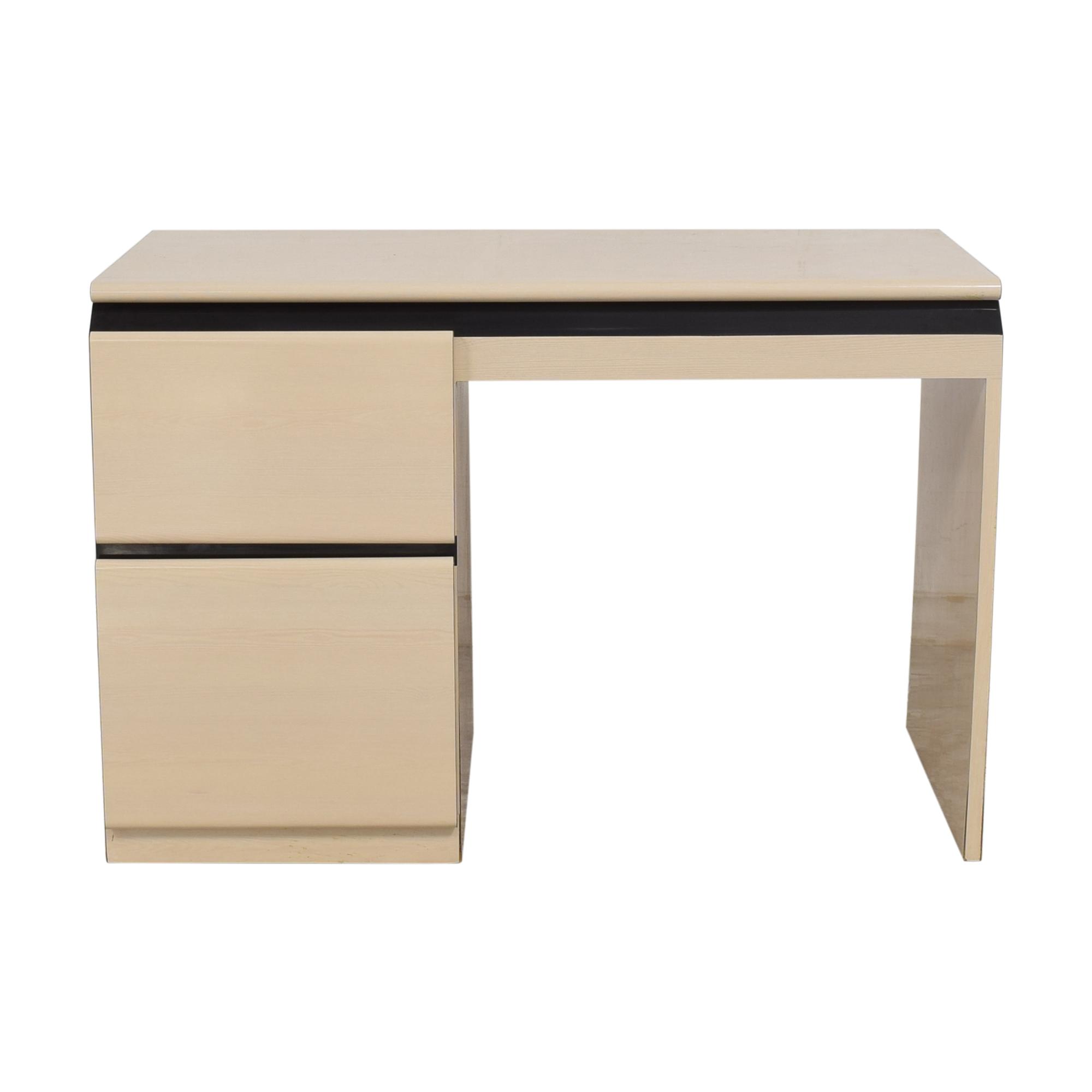 Modern Two Drawer Desk