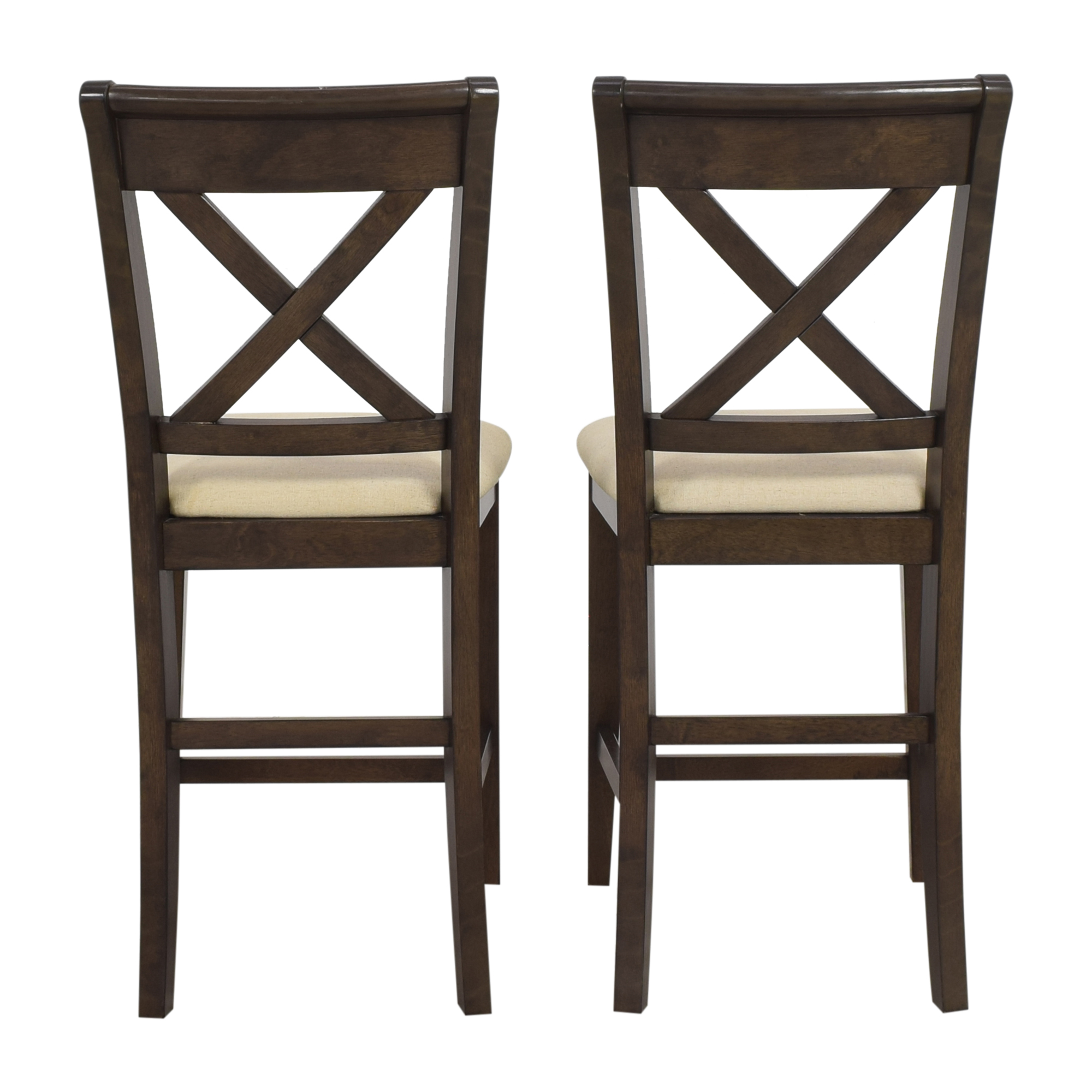 Raymour & Flanigan Raymour & Flanigan Upholstered Stools dimensions
