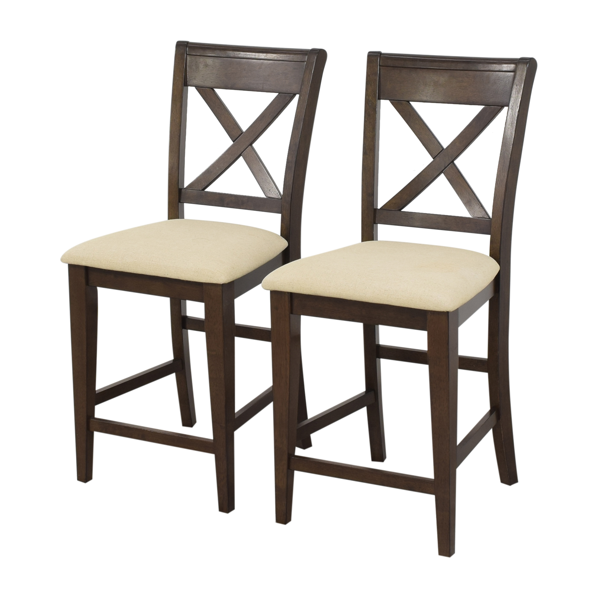 buy Raymour & Flanigan Raymour & Flanigan Upholstered Stools online