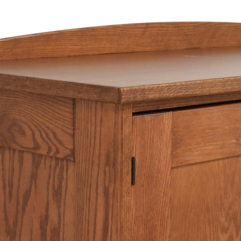 Workbench Two Door Wardrobe / Storage