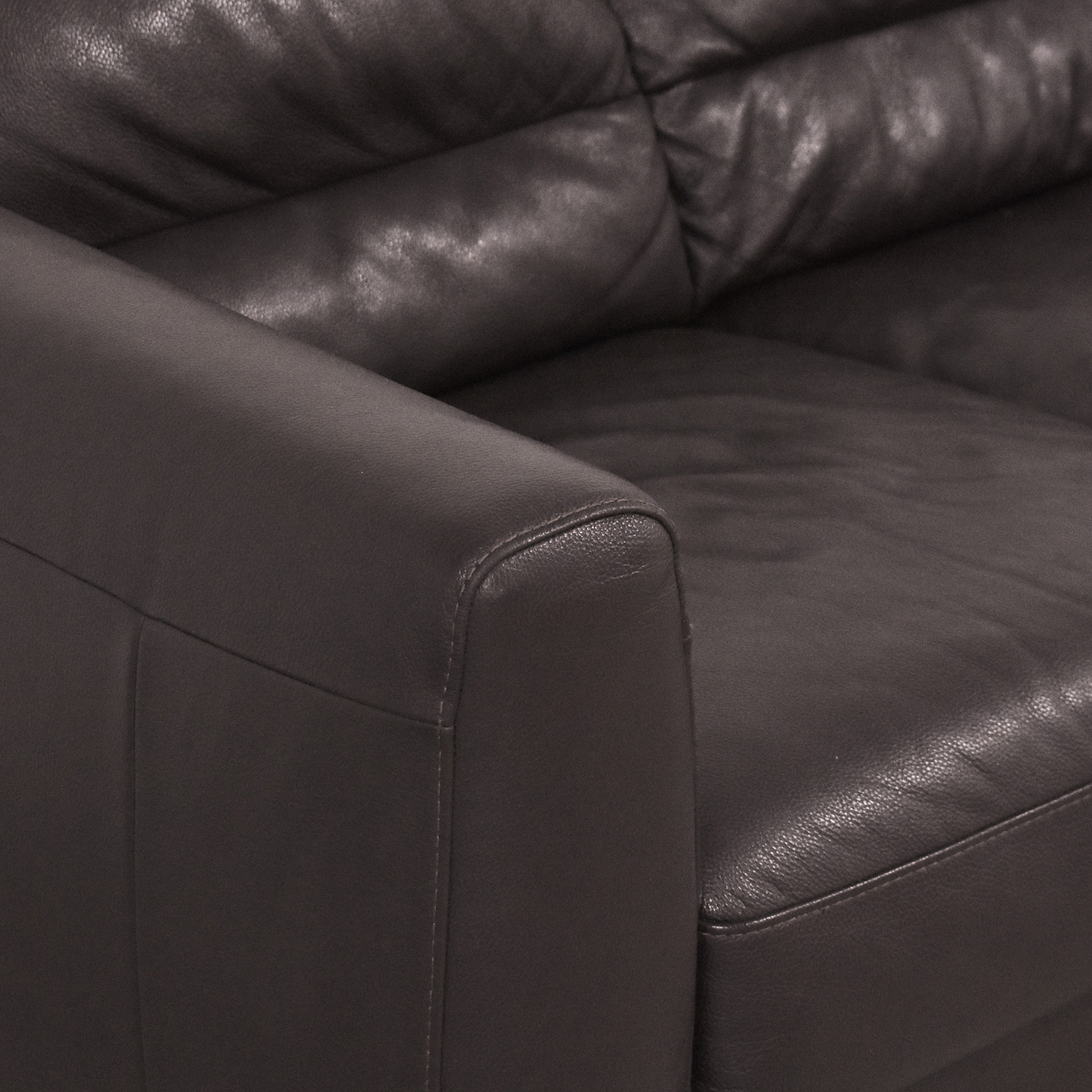 Natuzzi Natuzzi Three Cushion Sofa dimensions