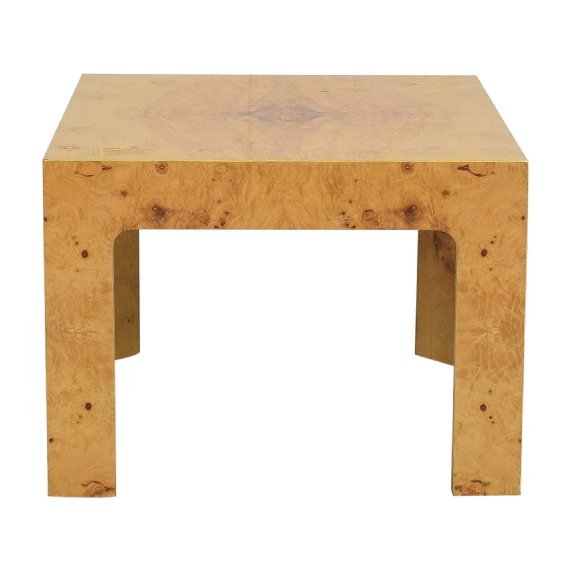 Burl End Table Tables