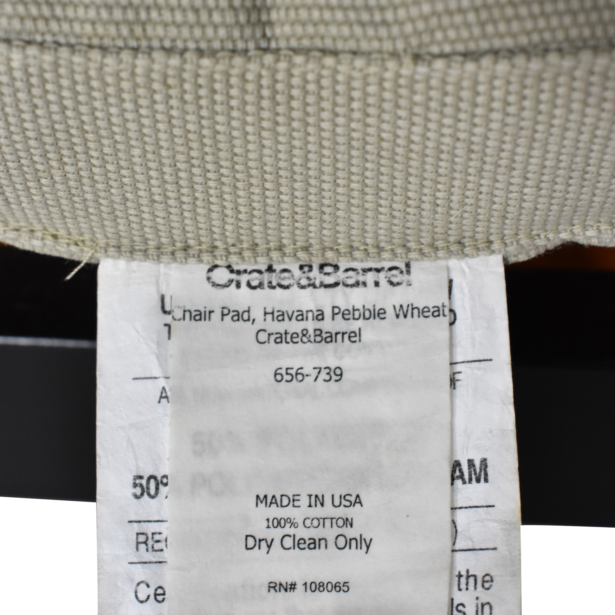 Crate & Barrel Village Bruno Dining Chairs sale