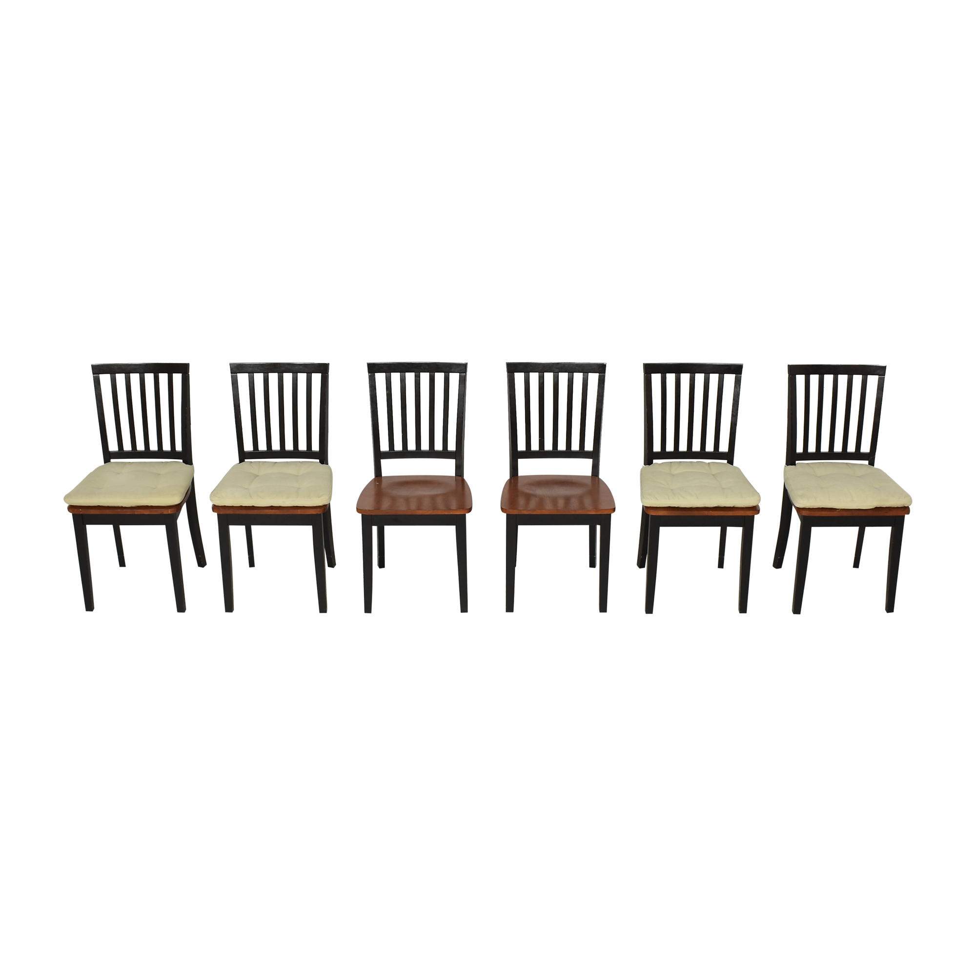 Crate & Barrel Crate & Barrel Village Bruno Dining Chairs on sale