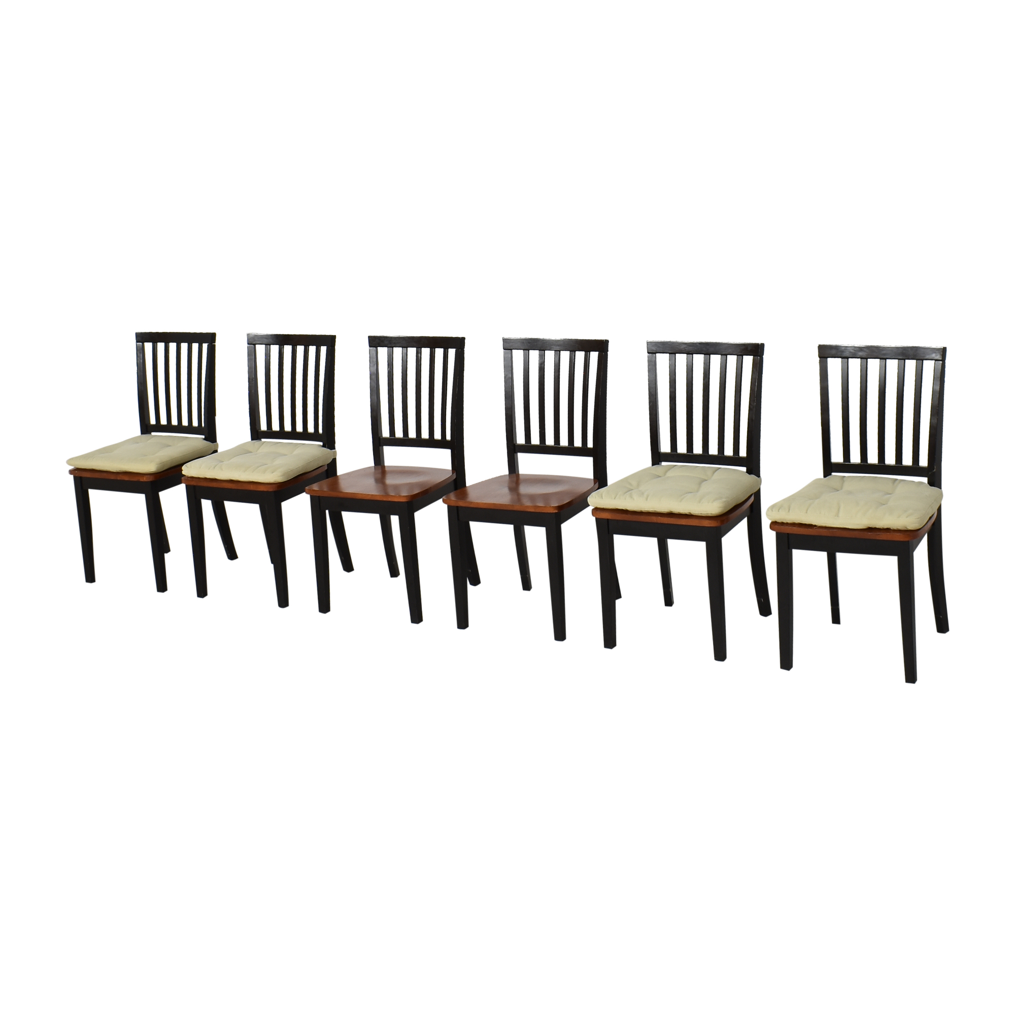 Crate & Barrel Village Bruno Dining Chairs / Chairs