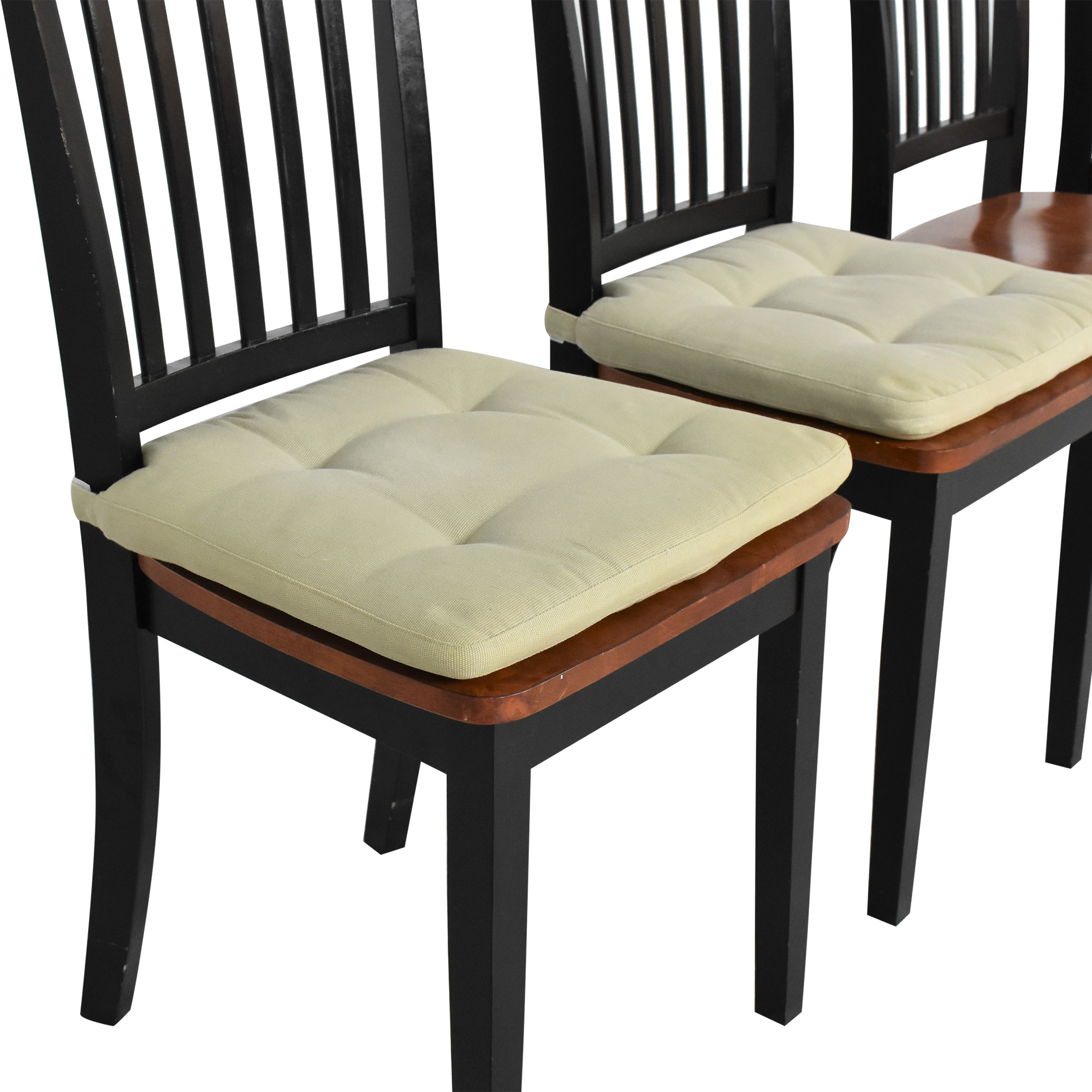 Crate & Barrel Crate & Barrel Village Bruno Dining Chairs used
