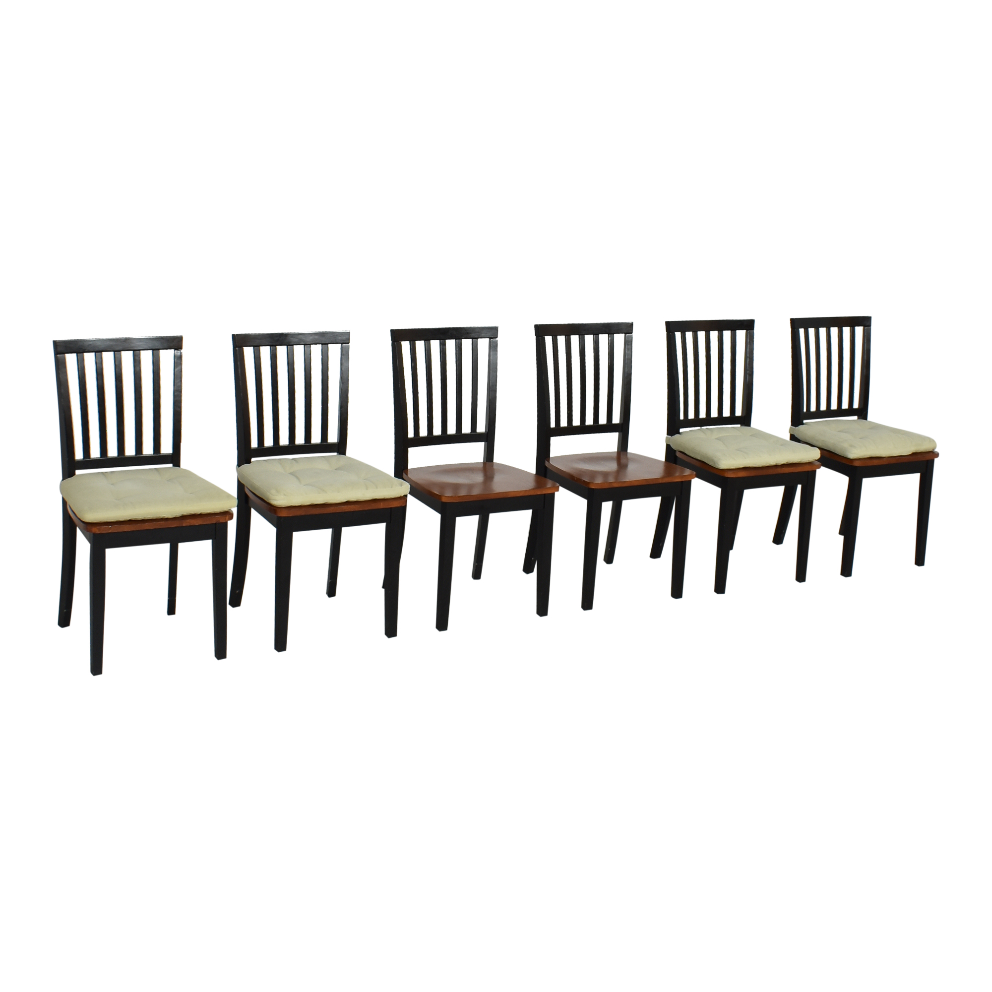 Crate & Barrel Village Bruno Dining Chairs Crate & Barrel