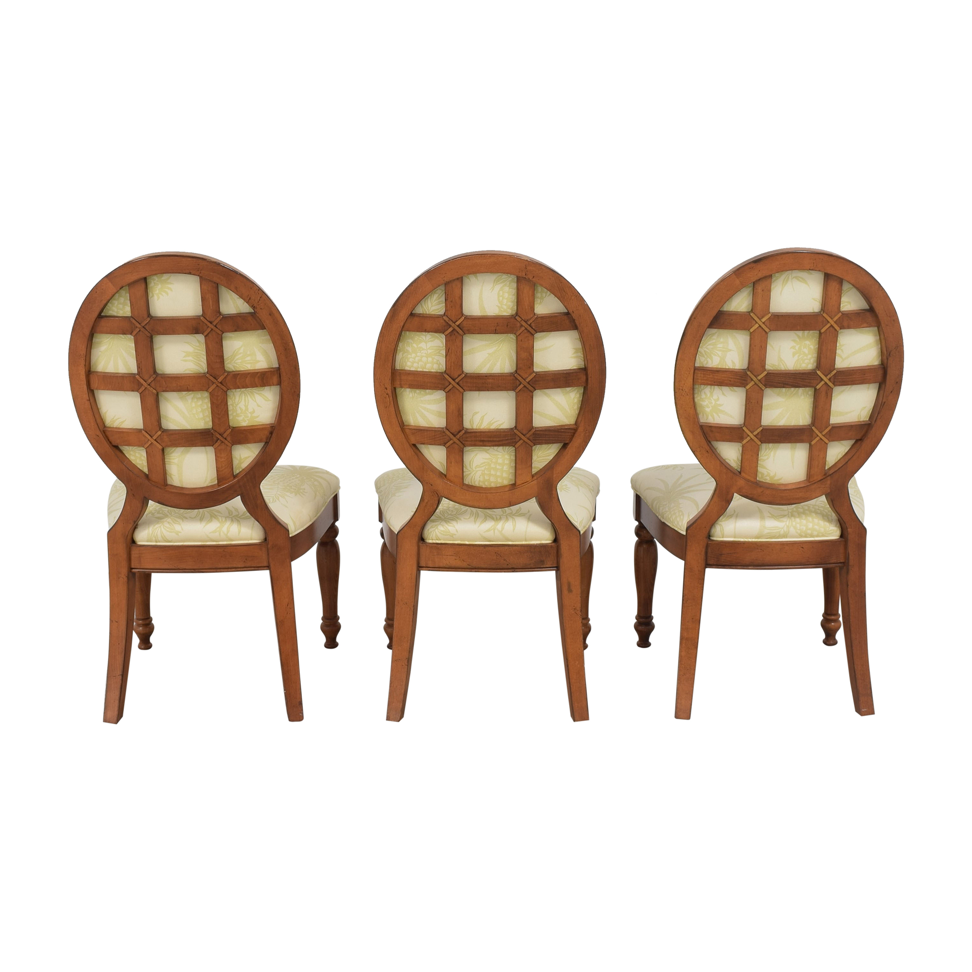 Lexington Furniture Oval Back Dining Chairs Lexington Furniture