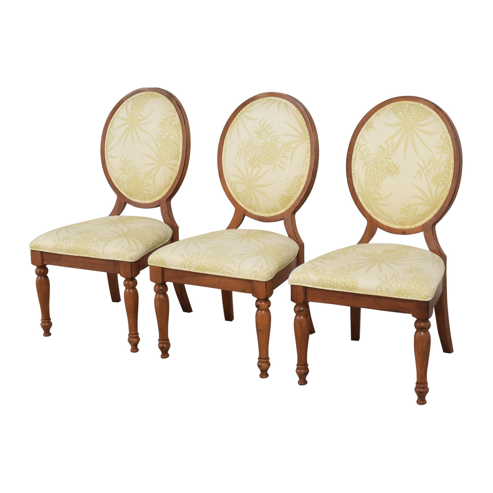 Lexington Furniture Lexington Furniture Oval Back Dining Chairs ma