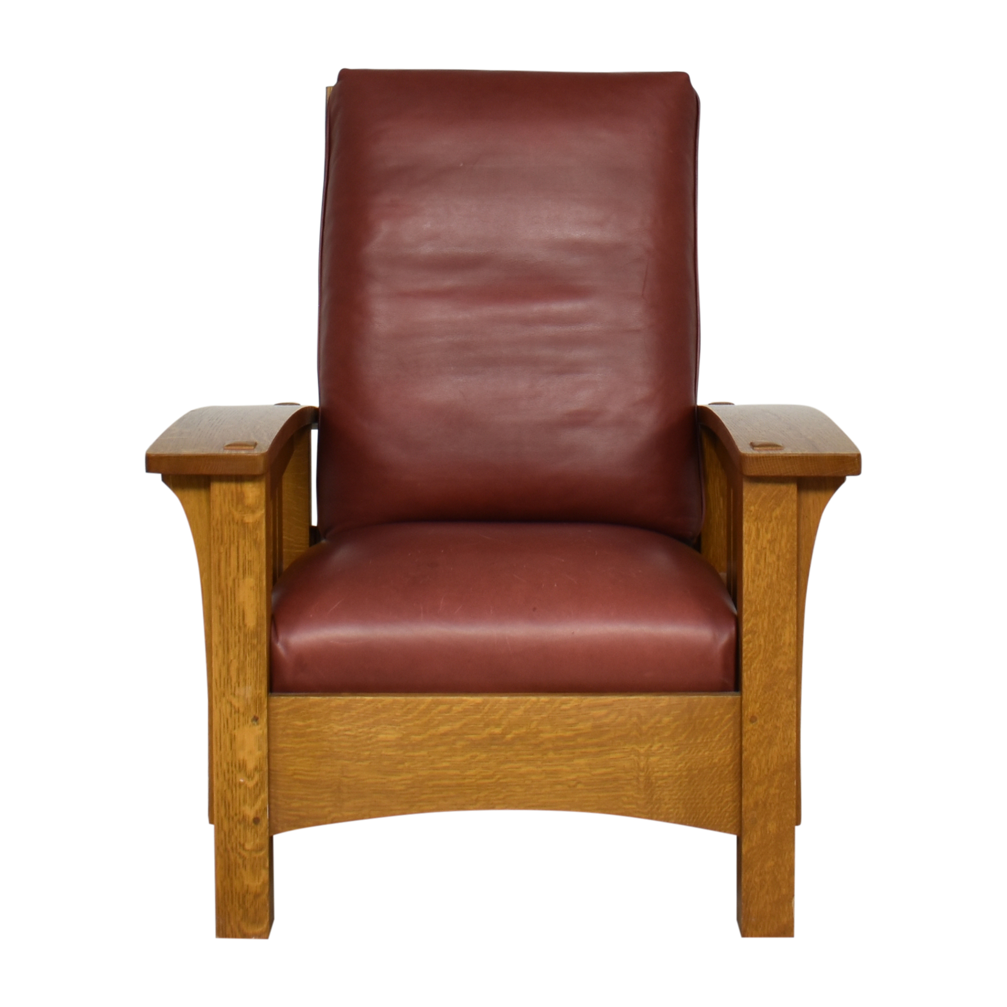 shop Stickley Mission Collection Bow Arm Morris Chair Stickley Furniture Chairs