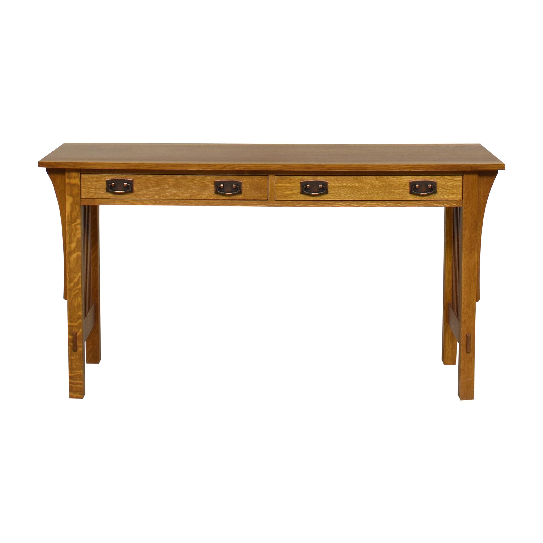 Stickley Furniture Stickley Mission Spindle Library Desk nj