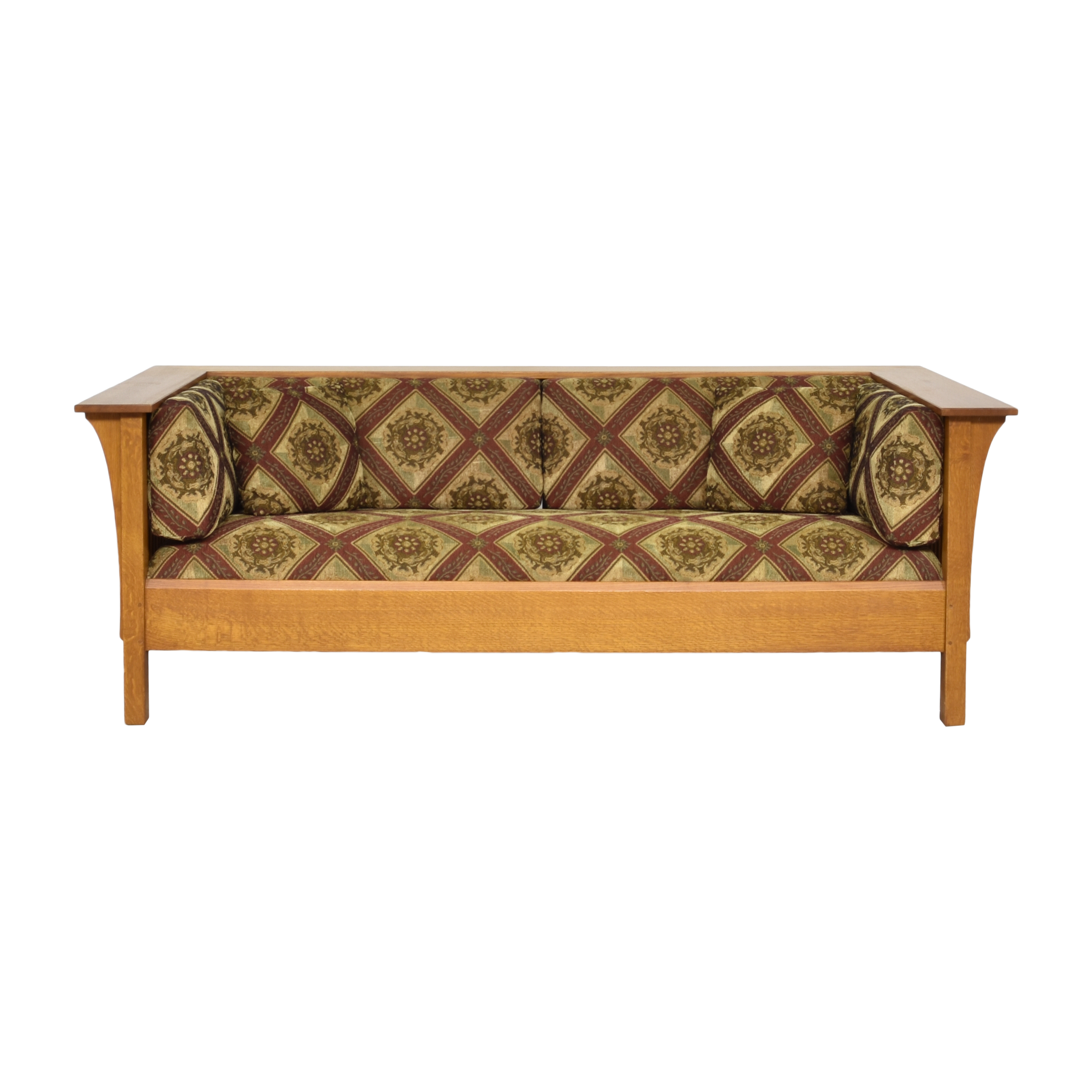 buy Stickley Fayetteville Mission Sofa Stickley Furniture Classic Sofas