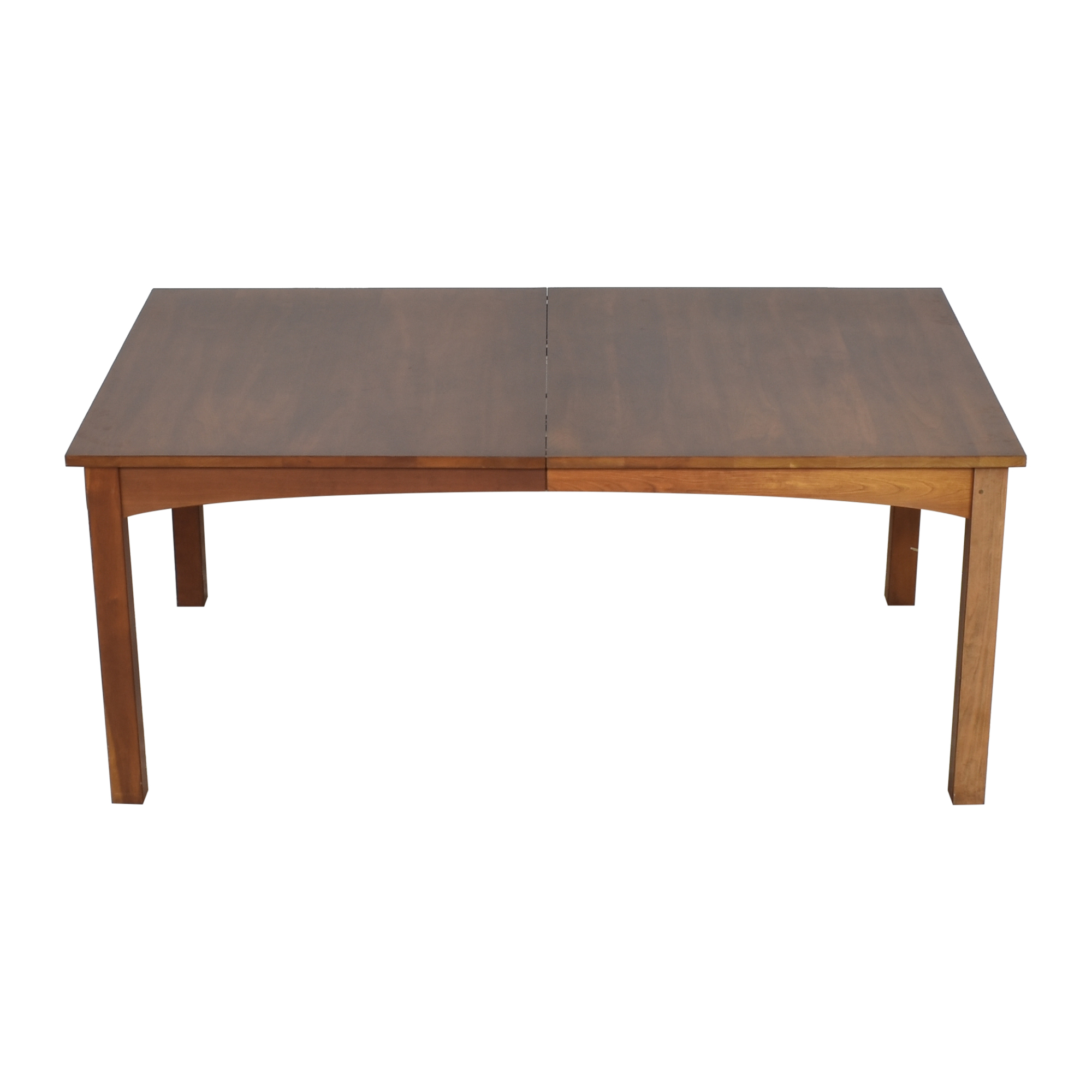 Stickley Furniture Stickley Mission Extendable Dining Table second hand