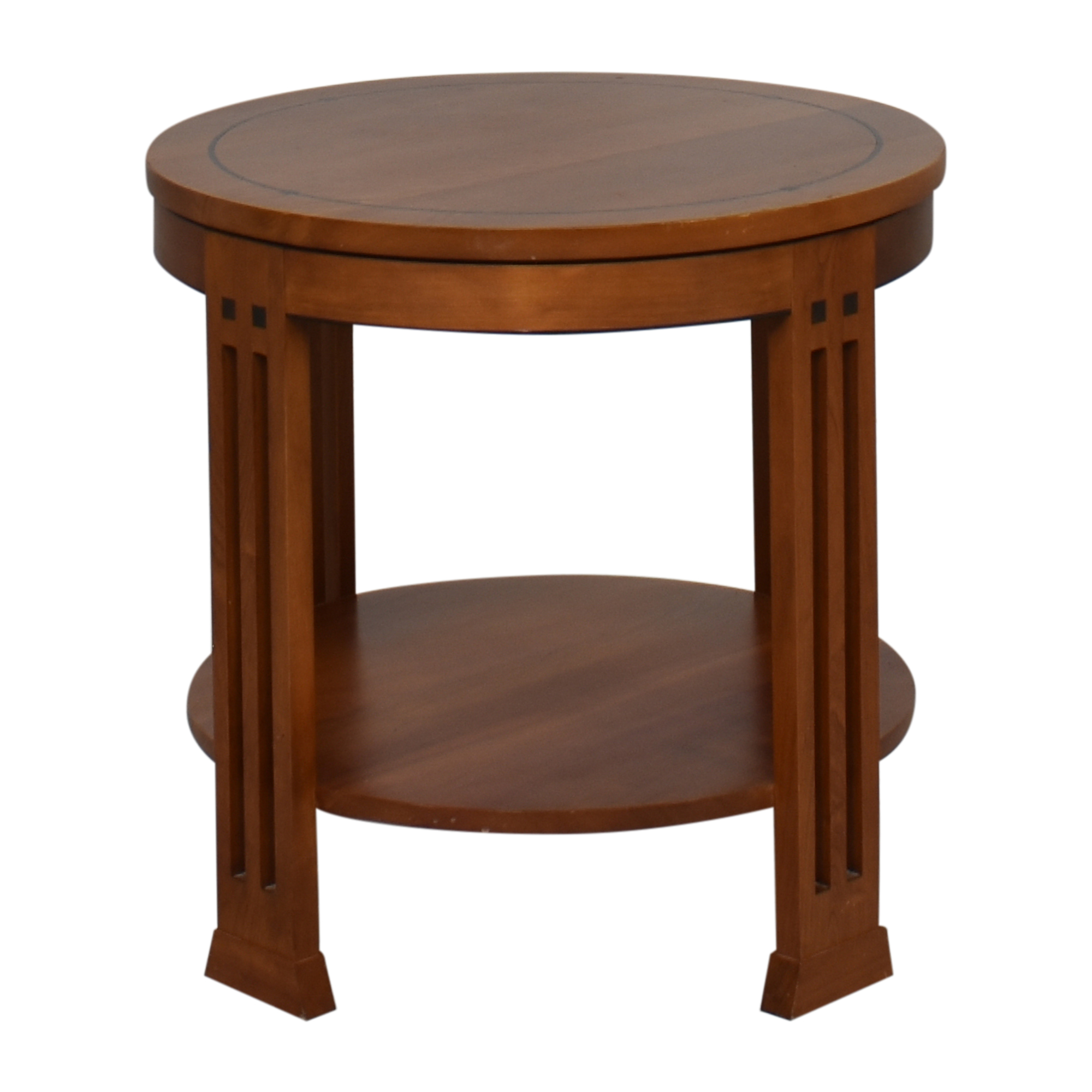 Stickley Furniture Stickley Furniture Round Mission End Table used
