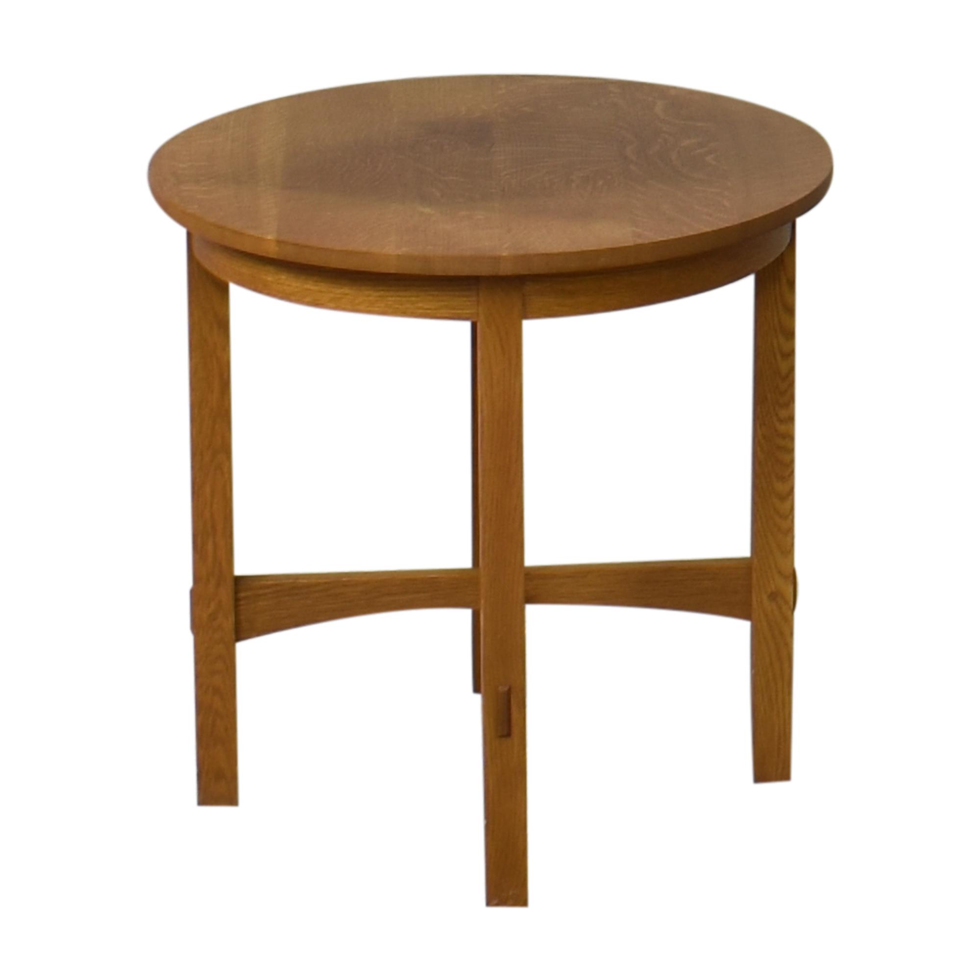 Stickley Furniture Stickley Furniture Round Side Table ma