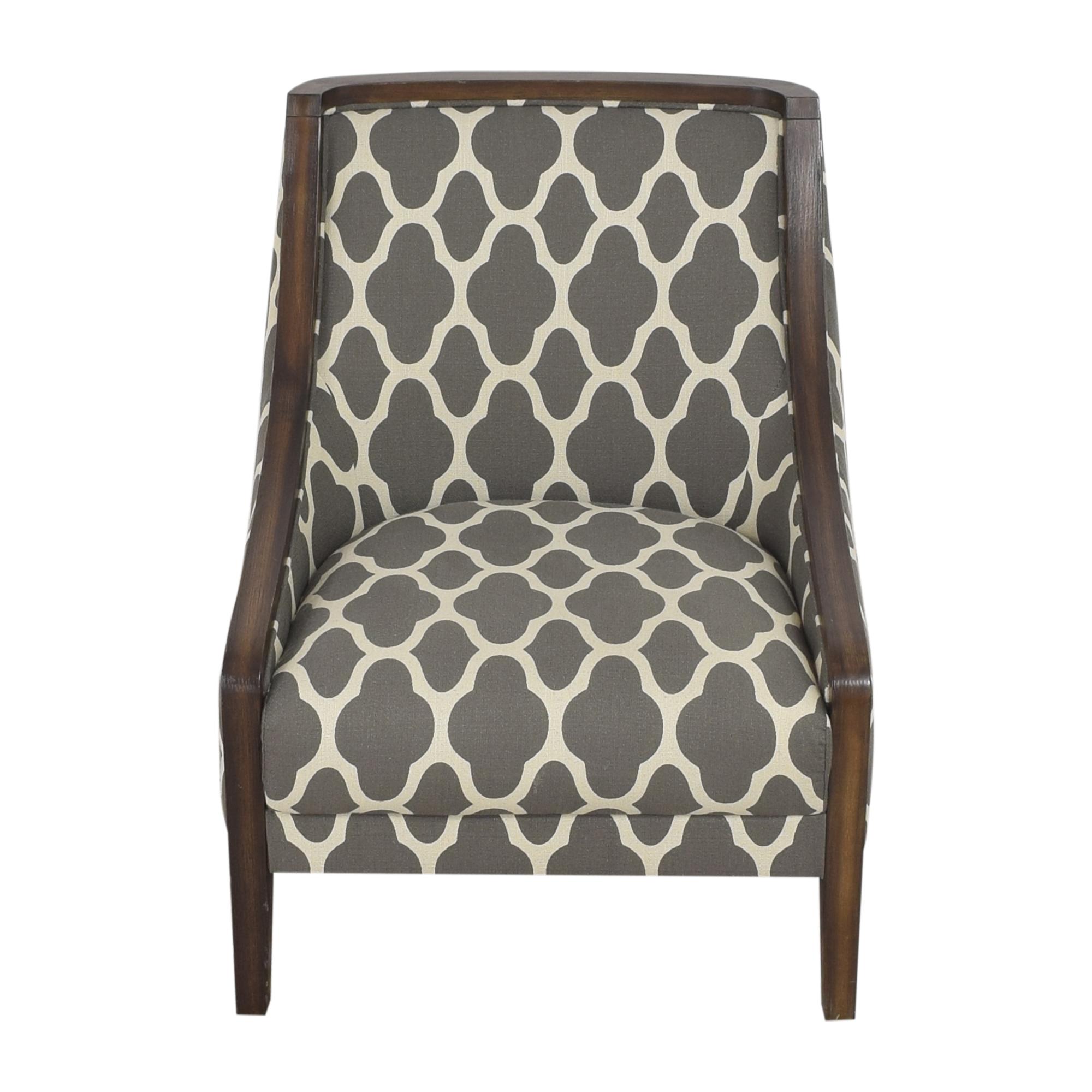Macy's Macy's Quatrefoil Accent Chair nyc