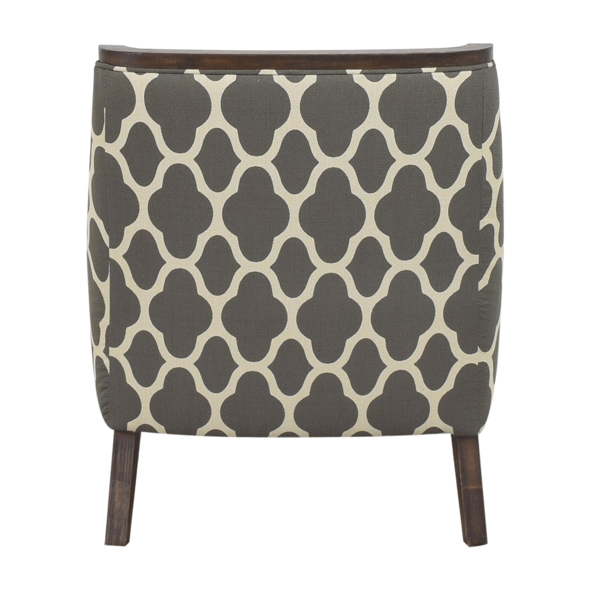 Macy's Quatrefoil Accent Chair Macy's