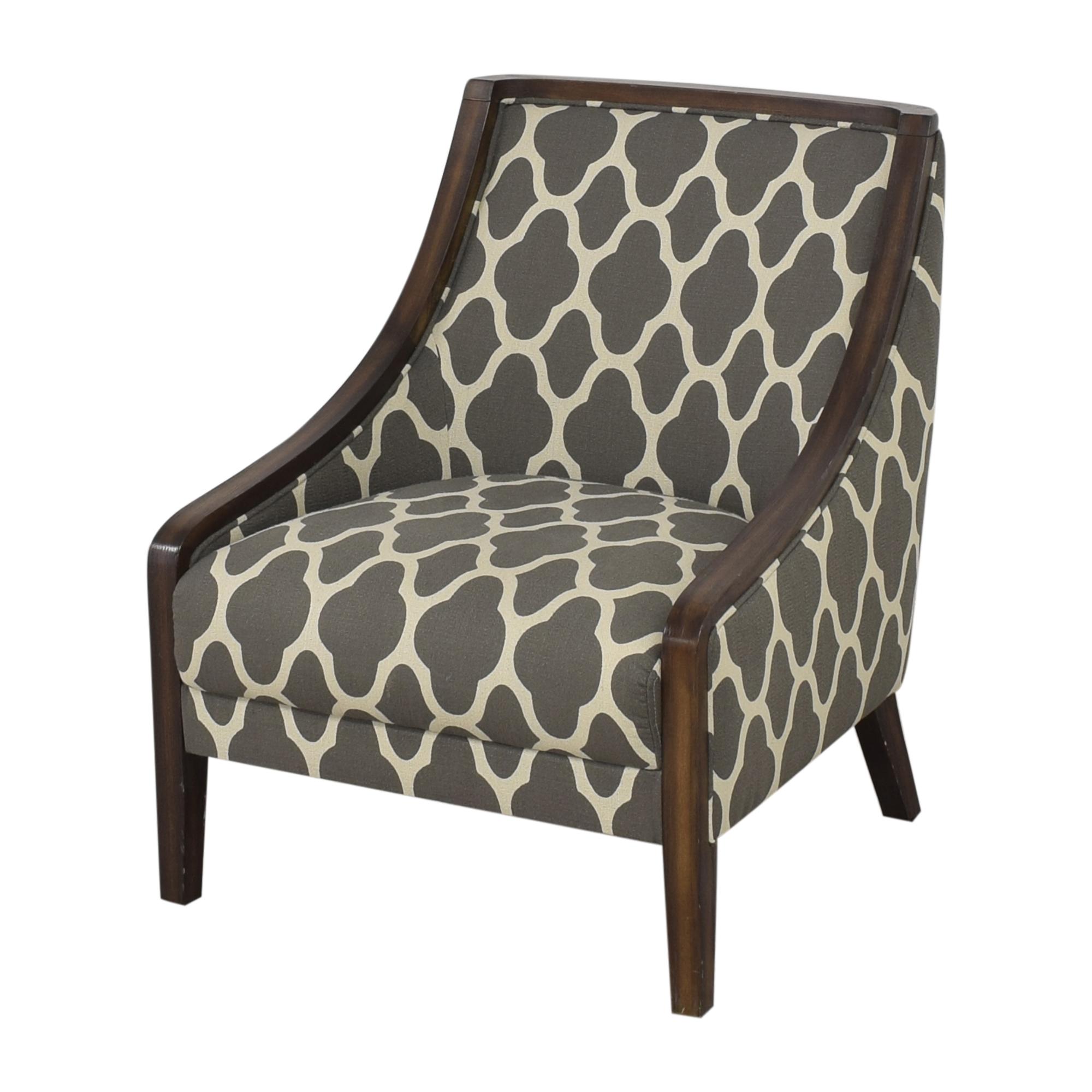 shop Macy's Quatrefoil Accent Chair Macy's Accent Chairs