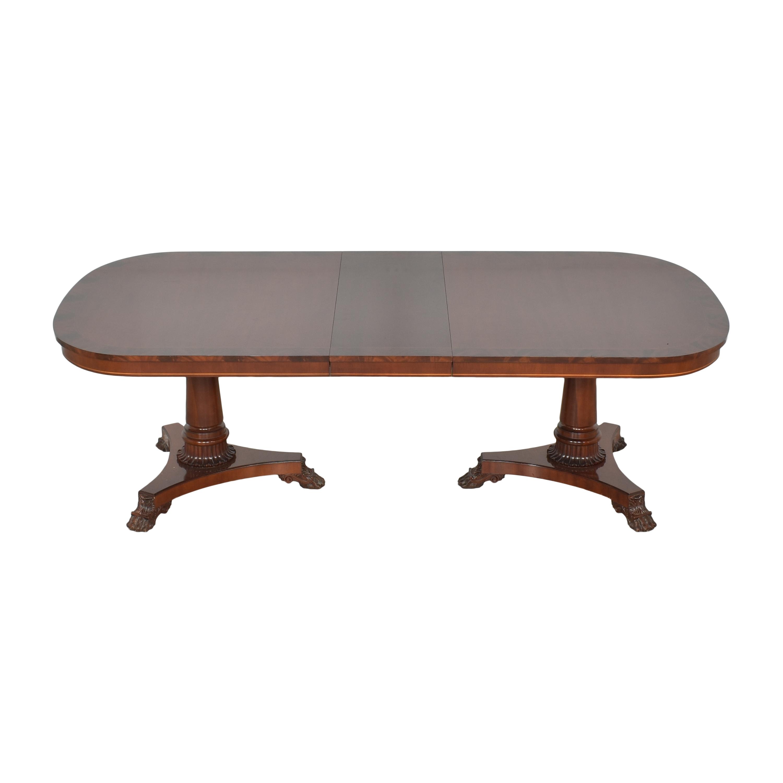 Kindel Kindel Extendable Double Pedestal Dining Table