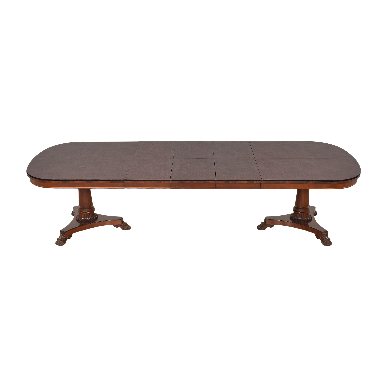 Kindel Kindel Extendable Double Pedestal Dining Table price