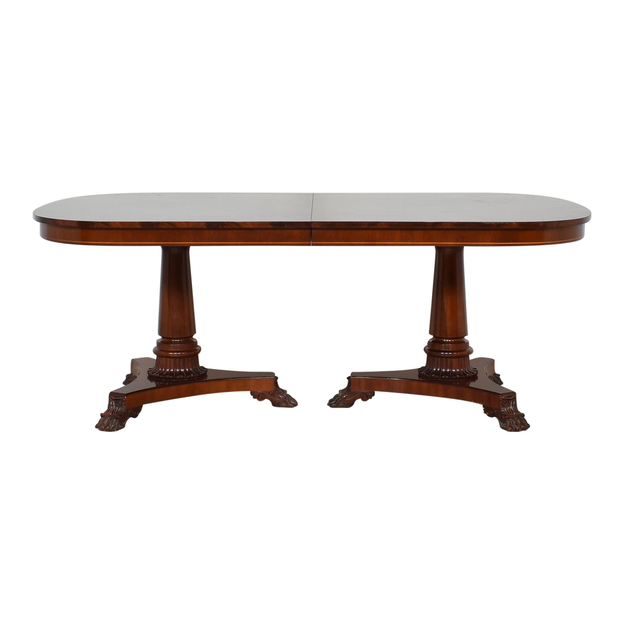 Kindel Kindel Extendable Double Pedestal Dining Table ma