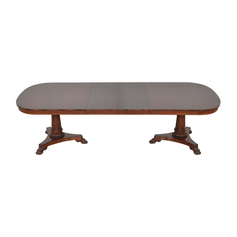 Kindel Kindel Extendable Double Pedestal Dining Table coupon