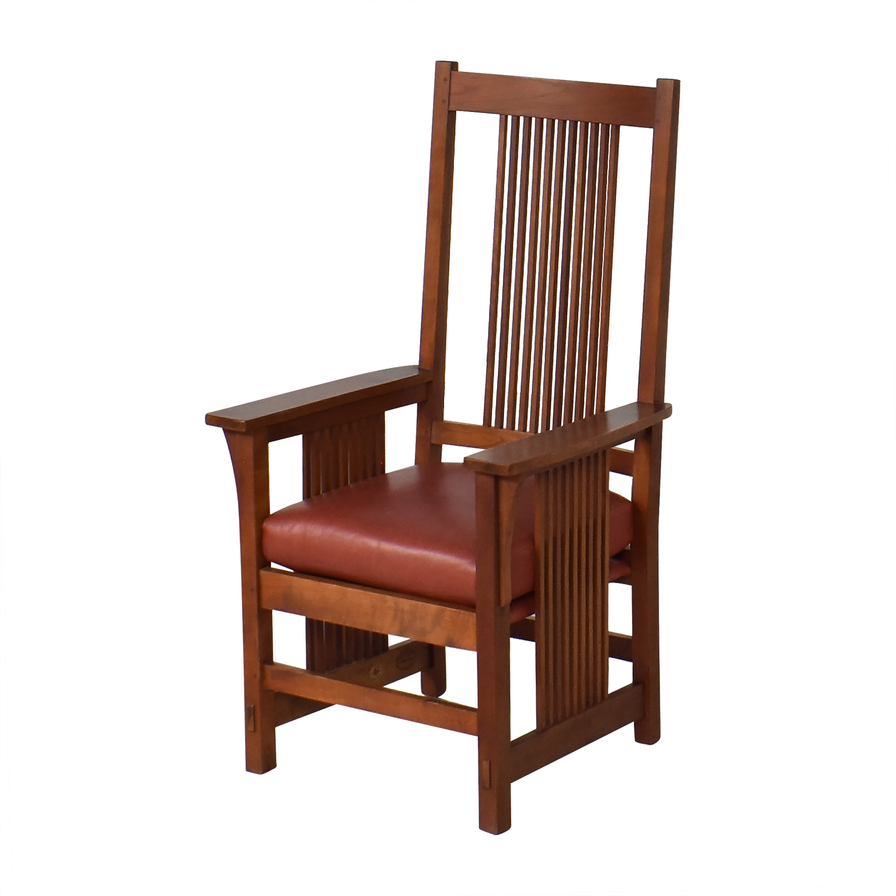 Stickley Furniture Stickley Spindle Dining Arm Chairs ct