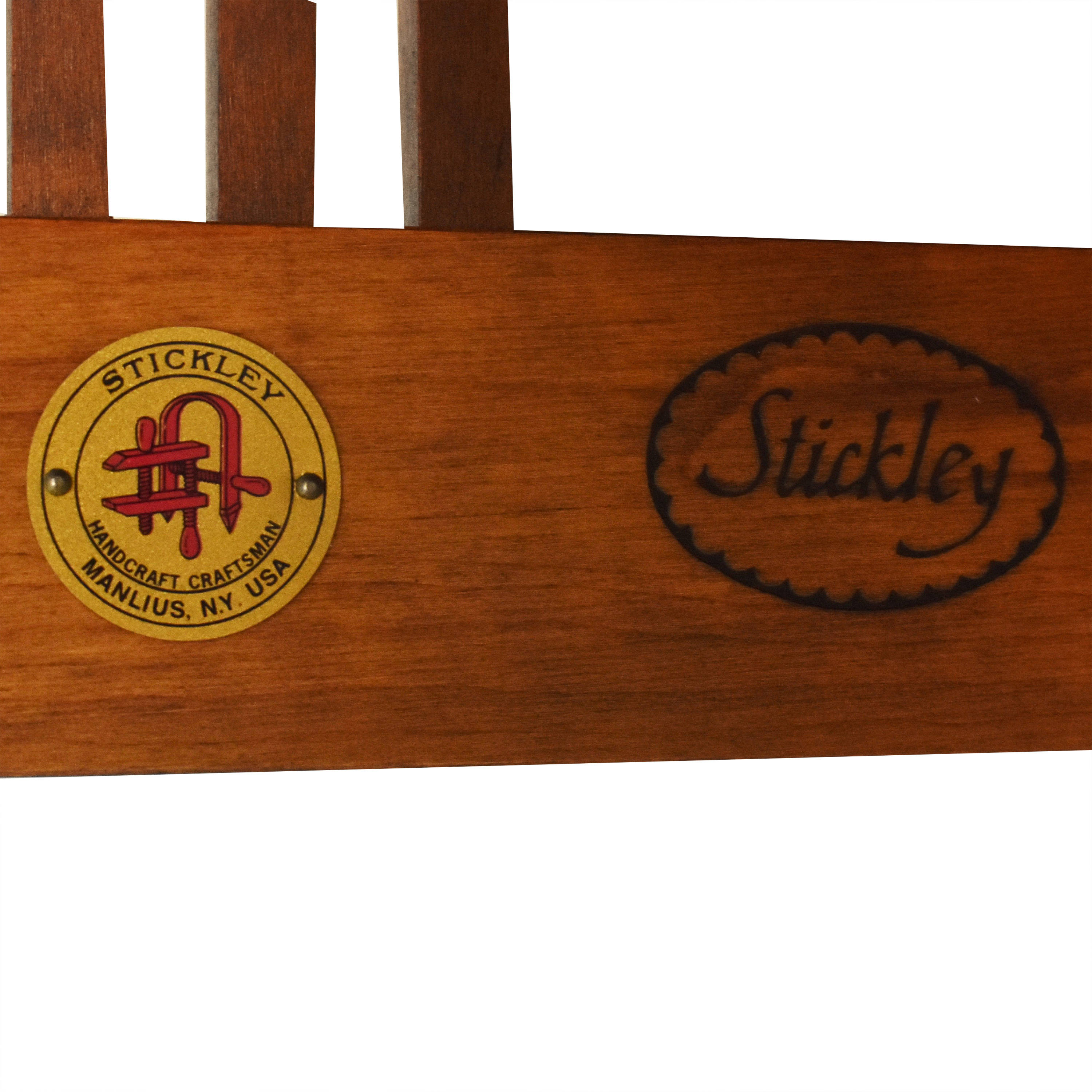 Stickley Spindle Dining Arm Chairs sale