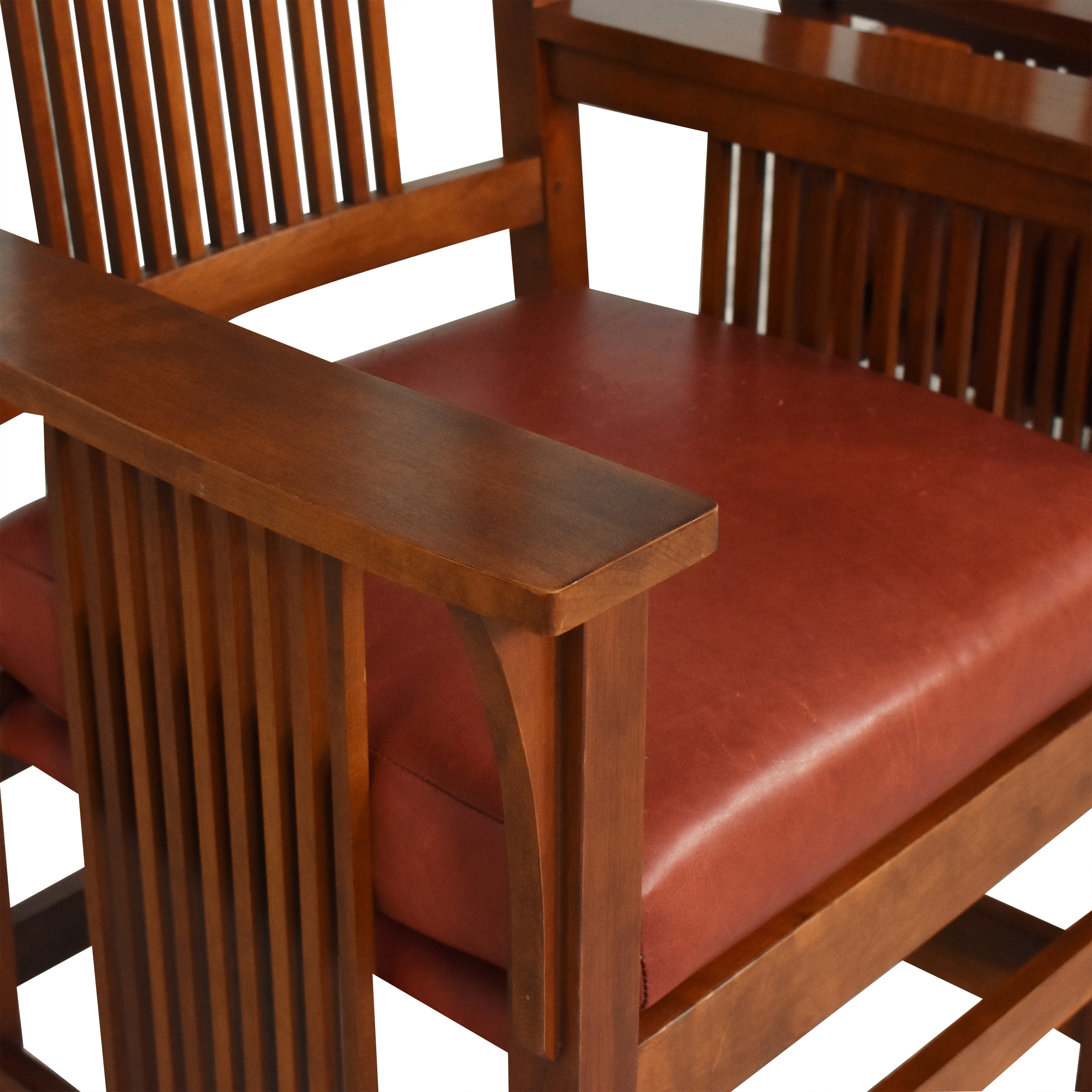 shop Stickley Spindle Dining Arm Chairs Stickley Furniture Dining Chairs