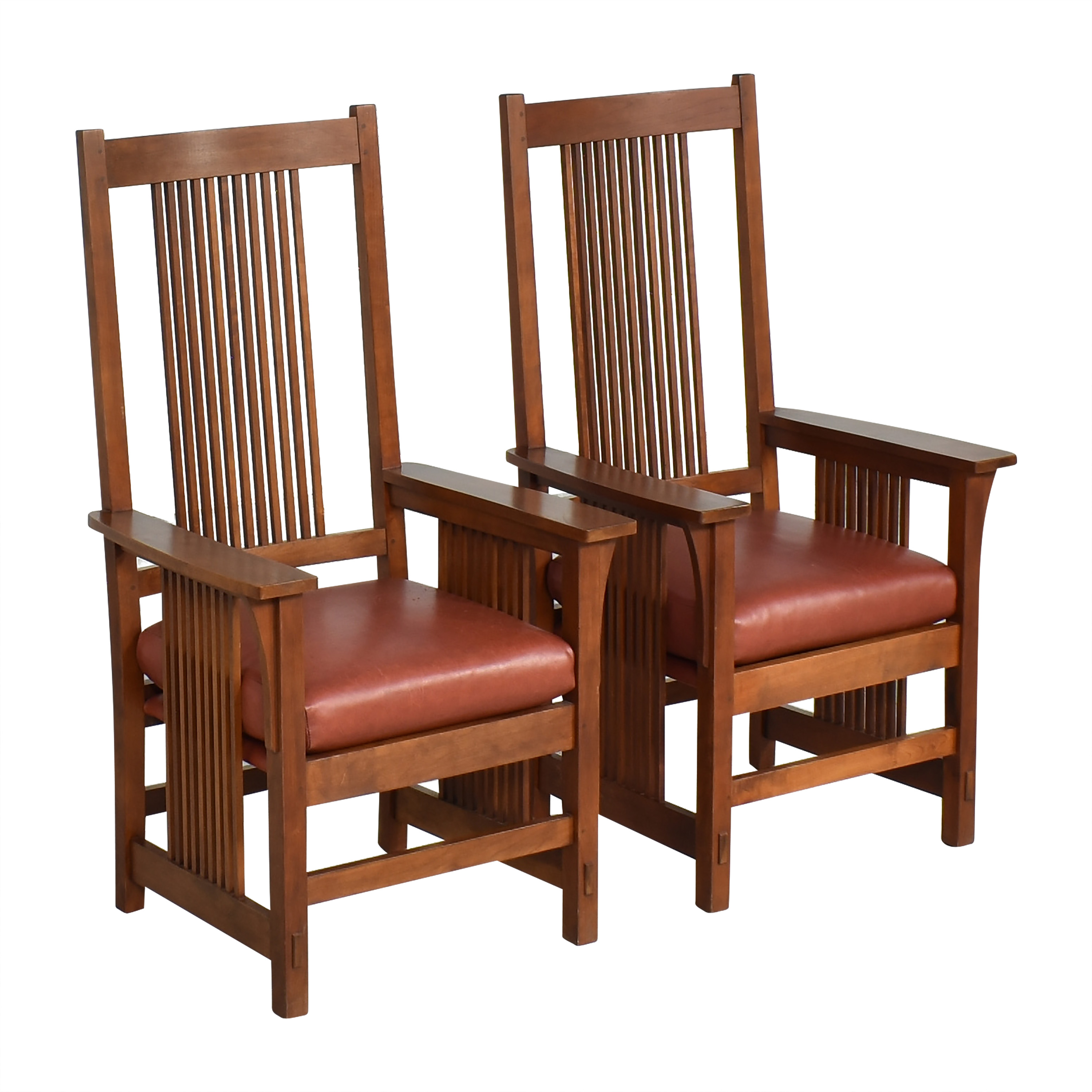 Stickley Furniture Stickley Spindle Dining Arm Chairs price