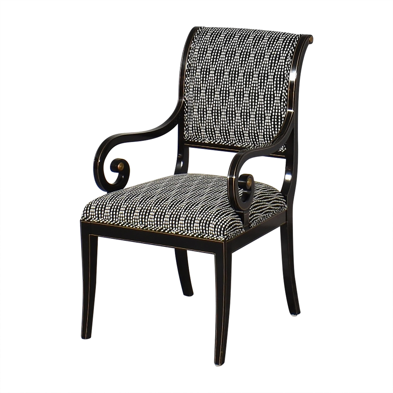shop Kindel Upholstered Dining Arm Chairs Kindel