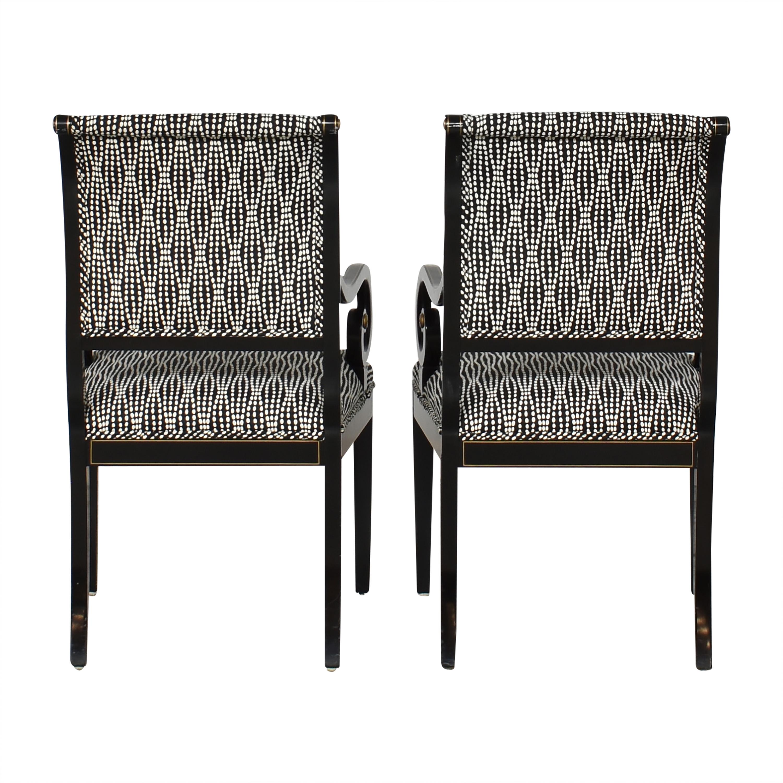 Kindel Kindel Upholstered Dining Arm Chairs discount