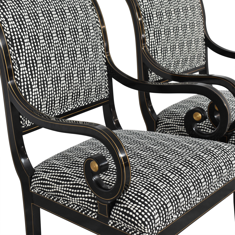 buy Kindel Upholstered Dining Arm Chairs Kindel