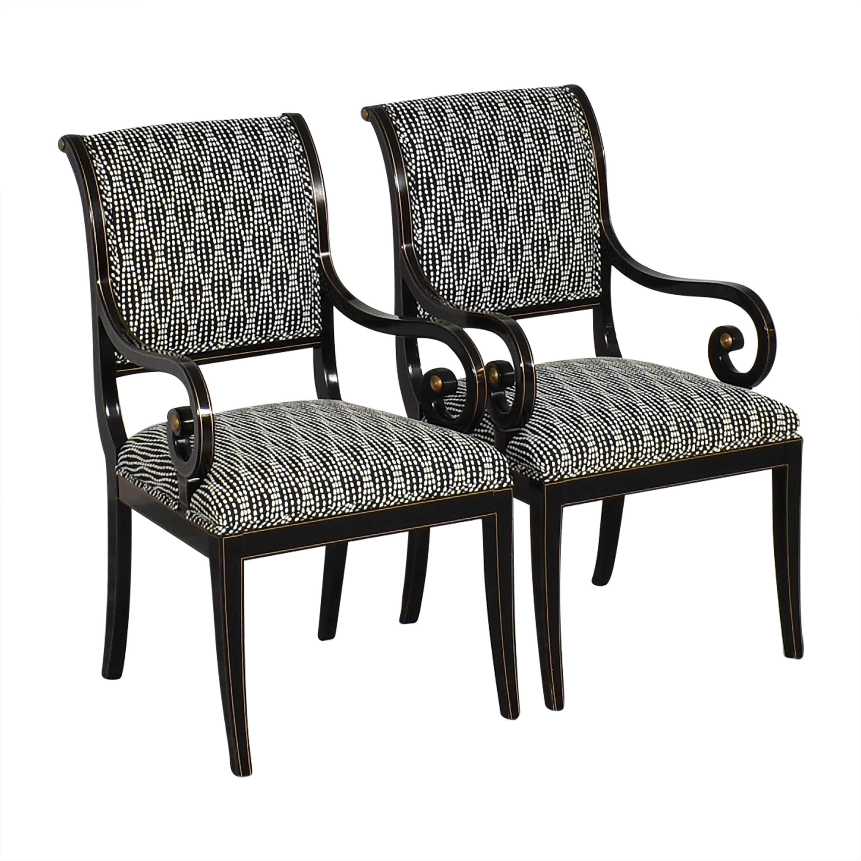 Kindel Kindel Upholstered Dining Arm Chairs nj