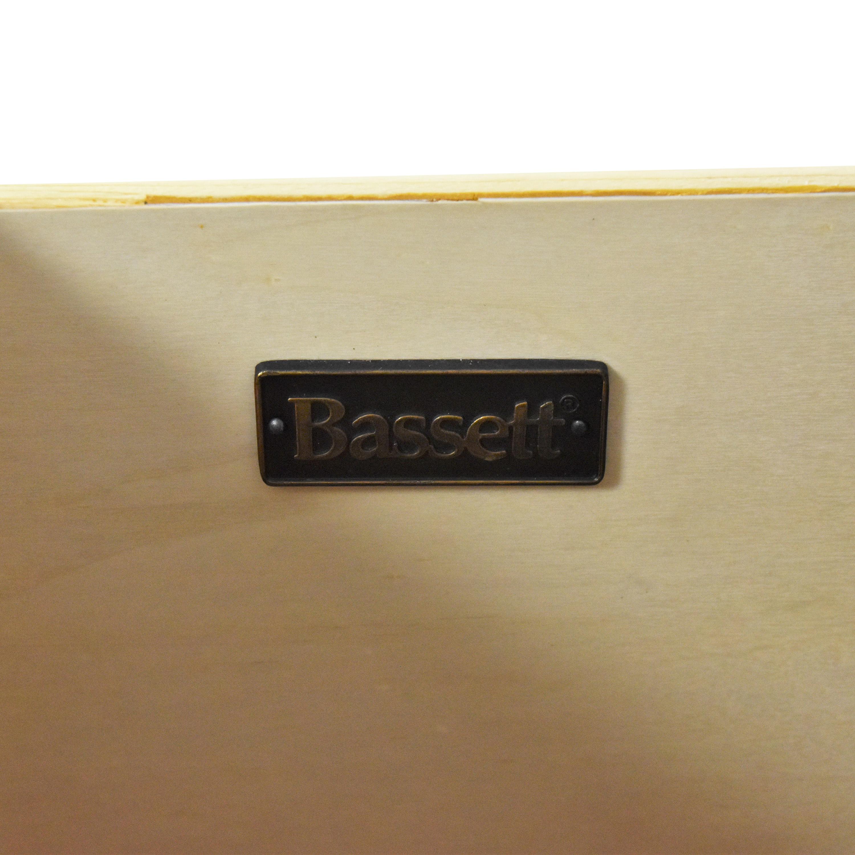 Bassett Furniture Bassett Furniture Cosmopolitan Nine Drawer Dresser Dressers