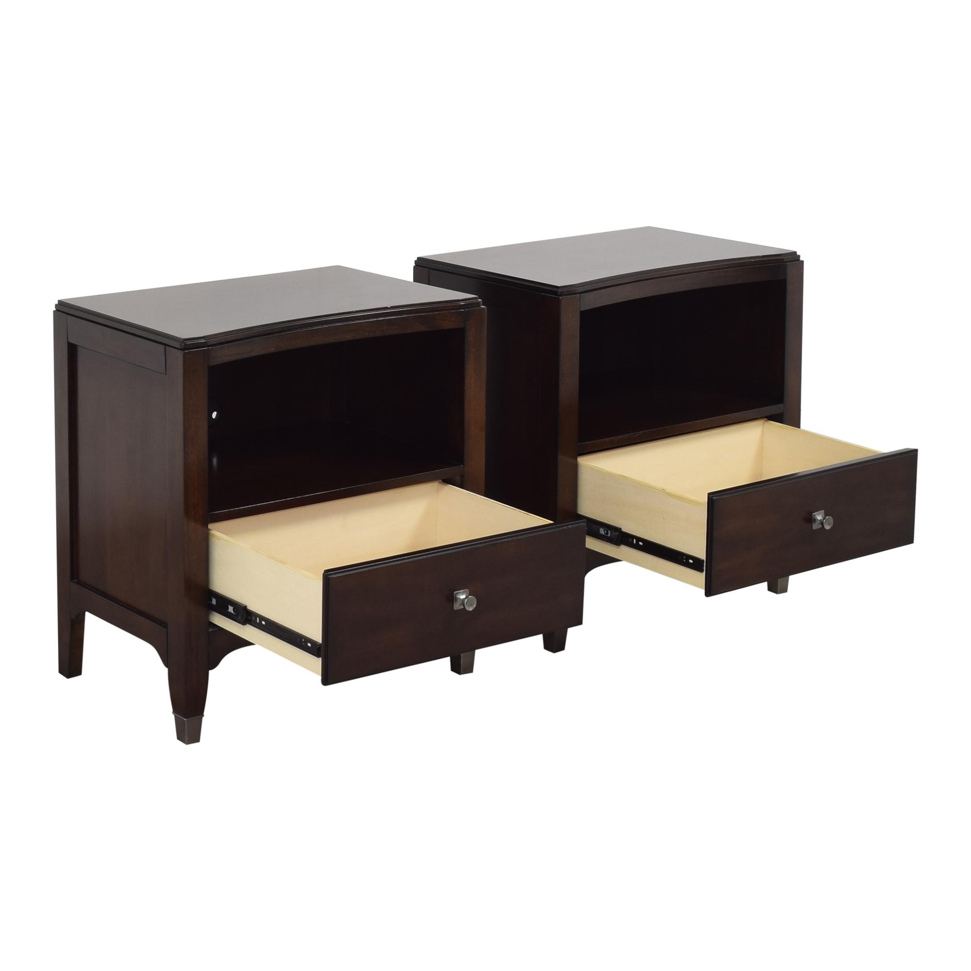 Bassett Furniture Bassett Furniture Cosmopolitan Nightstands Tables