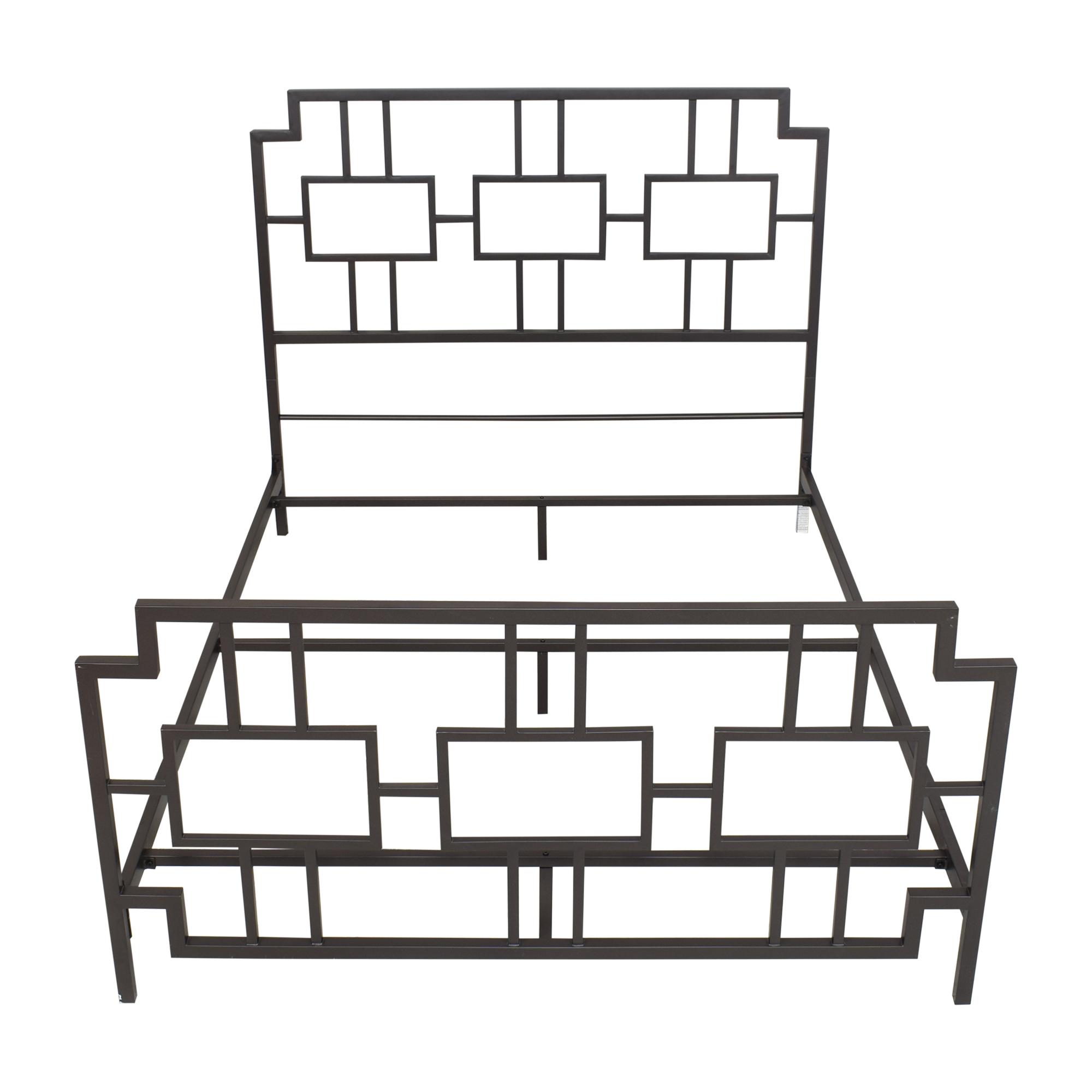 Wayfair Wayfair Geometric Queen Bed on sale