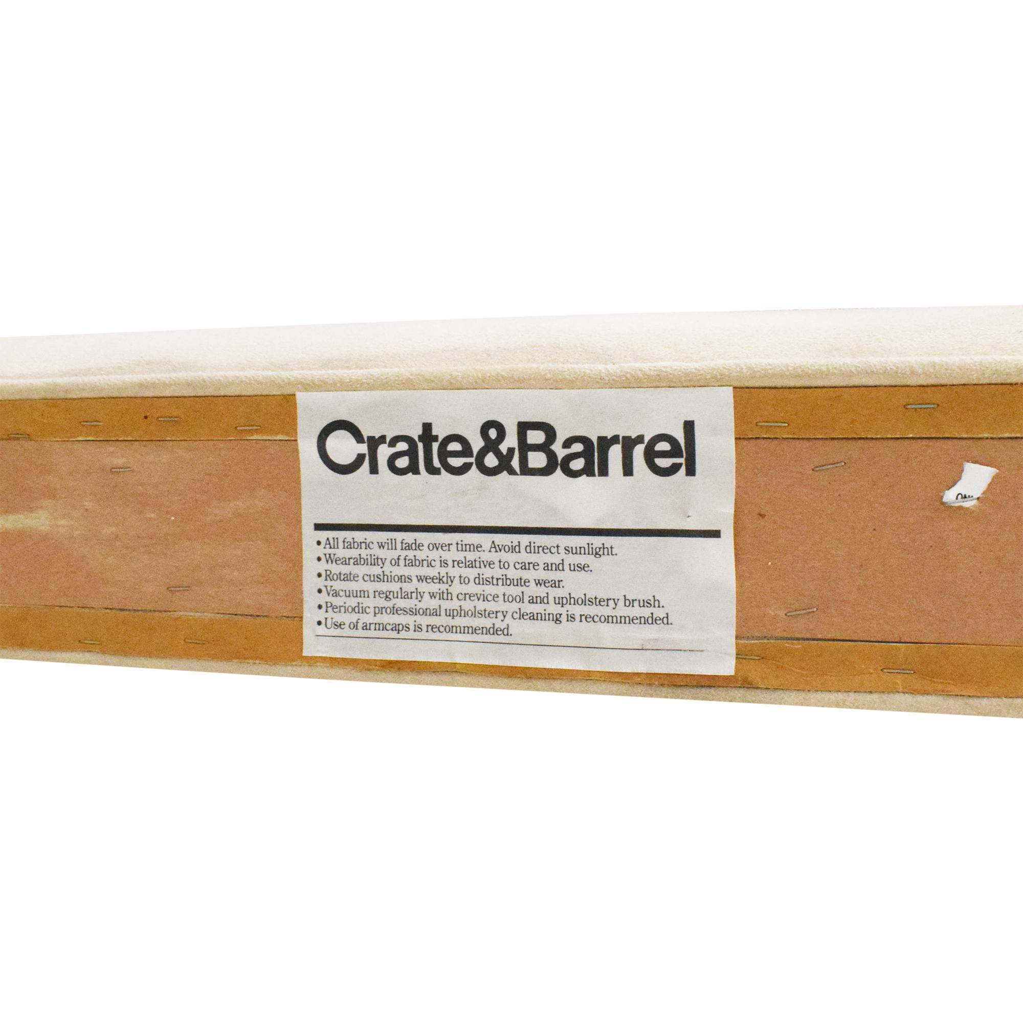 Crate & Barrel Tufted Queen Headboard  Crate & Barrel