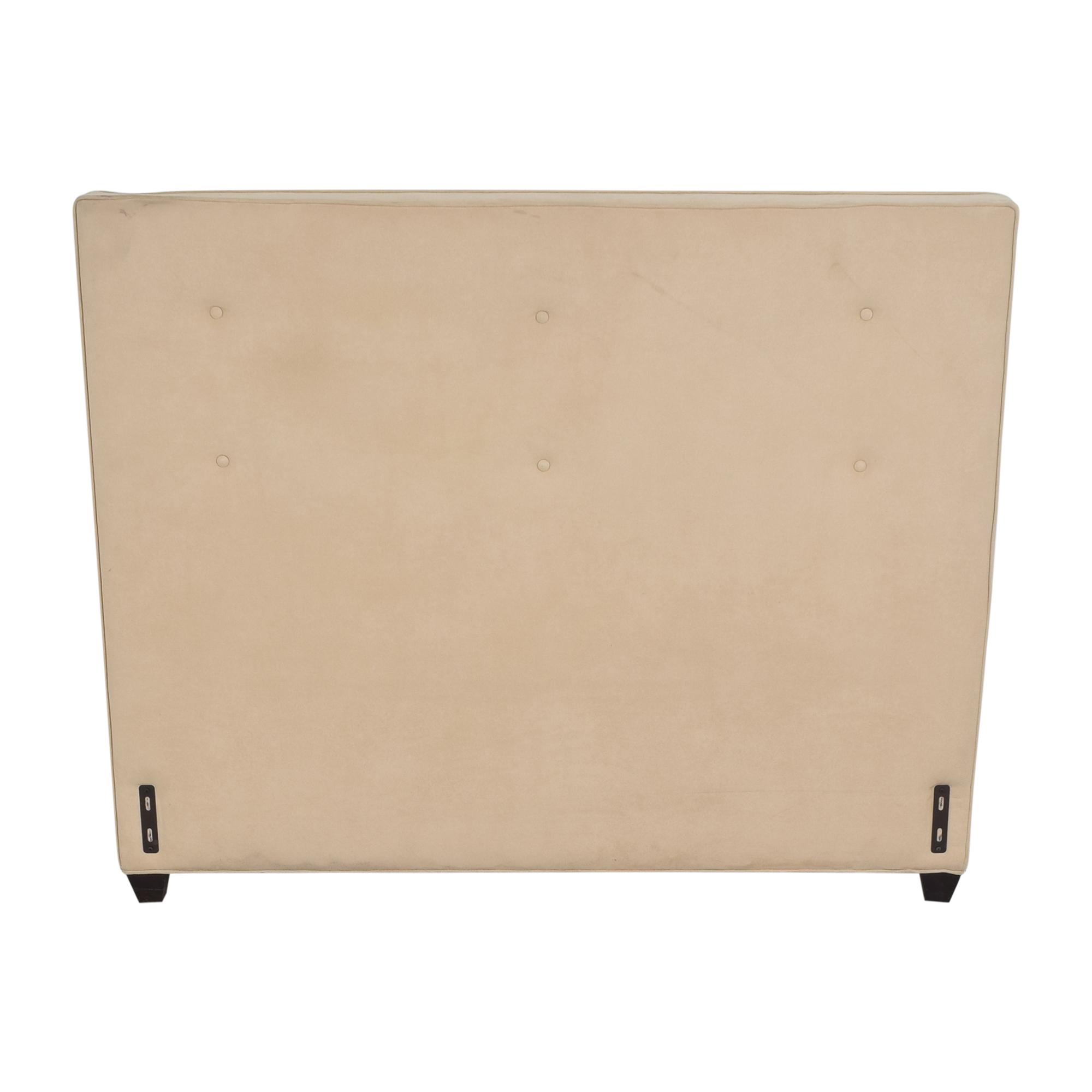 Crate & Barrel Tufted Queen Headboard  / Beds