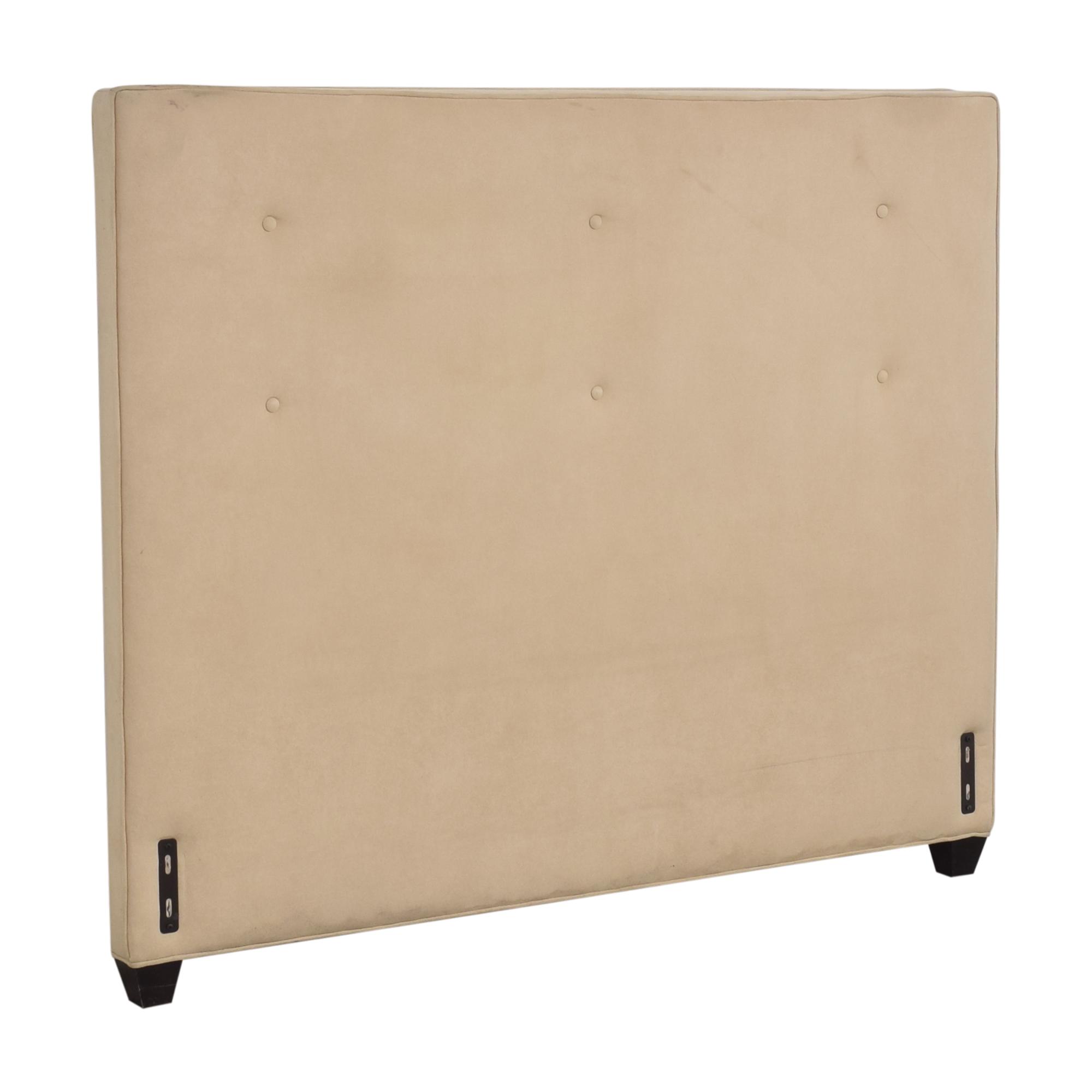 Crate & Barrel Crate & Barrel Tufted Queen Headboard  ma