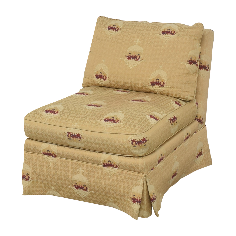 Sherrill Furniture Sherrill Brand Skirted Slipper Chair nyc