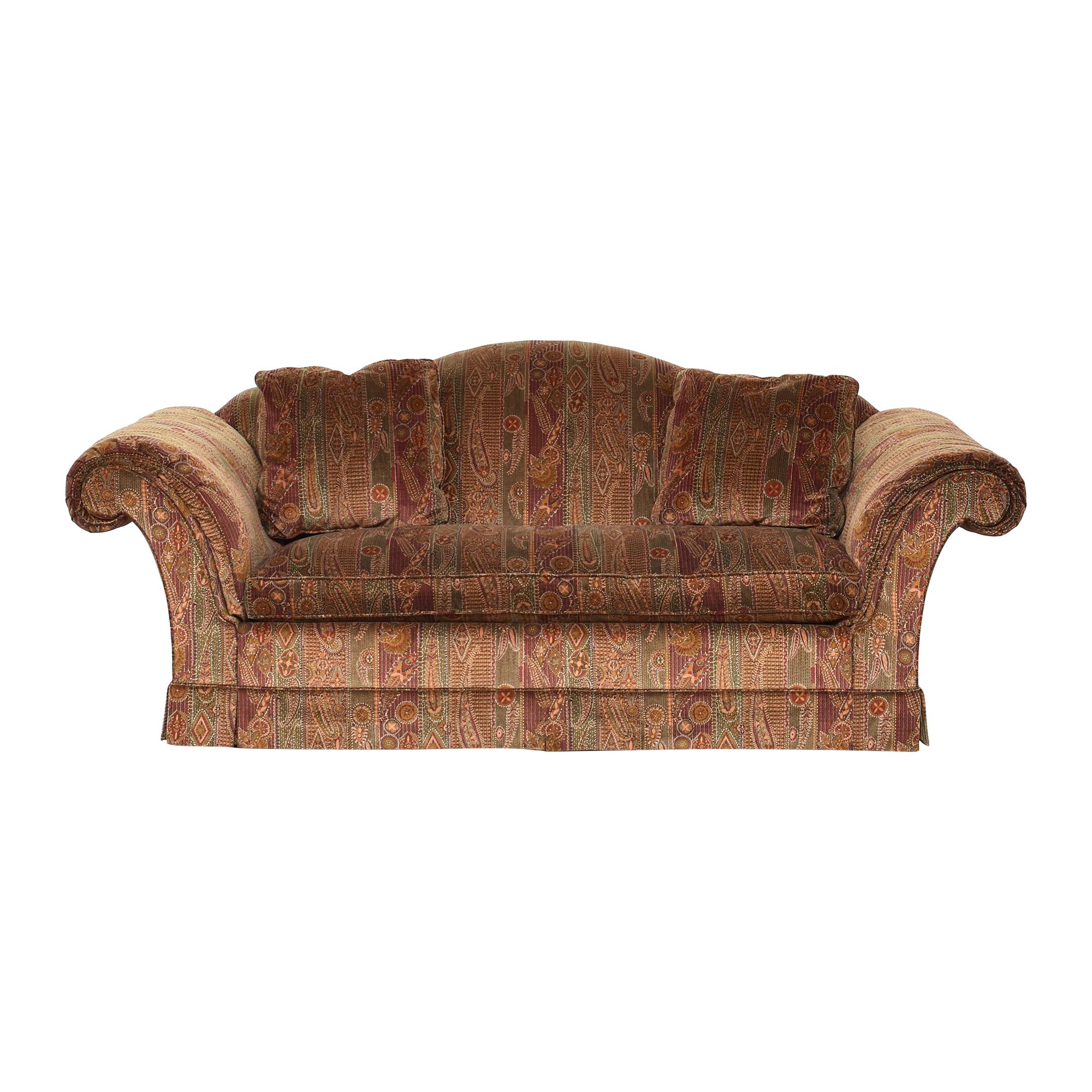 Baker Furniture Baker Furniture Scroll Arm Sofa Classic Sofas