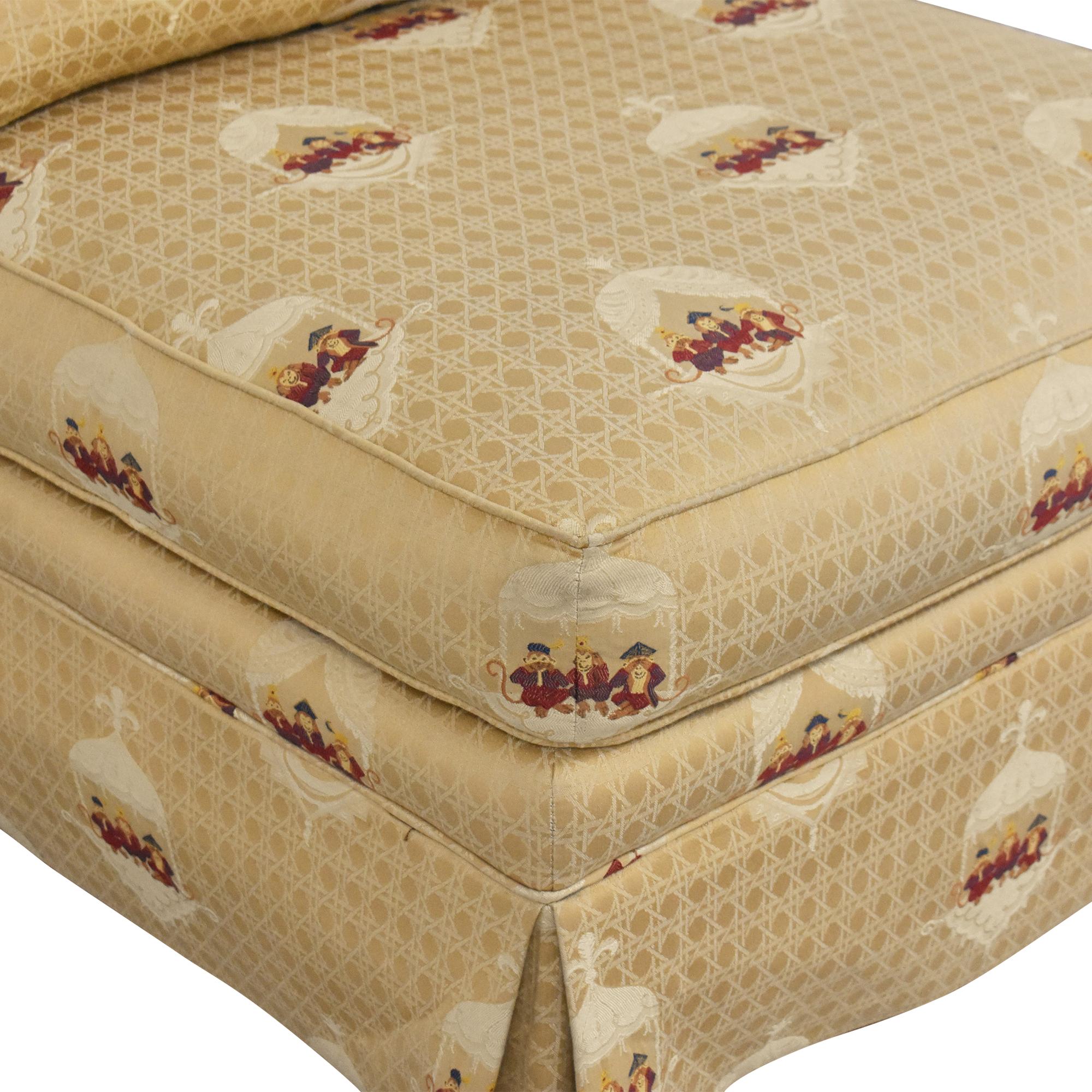 Sherrill Furniture Sherrill Brand Skirted Slipper Chair Chairs