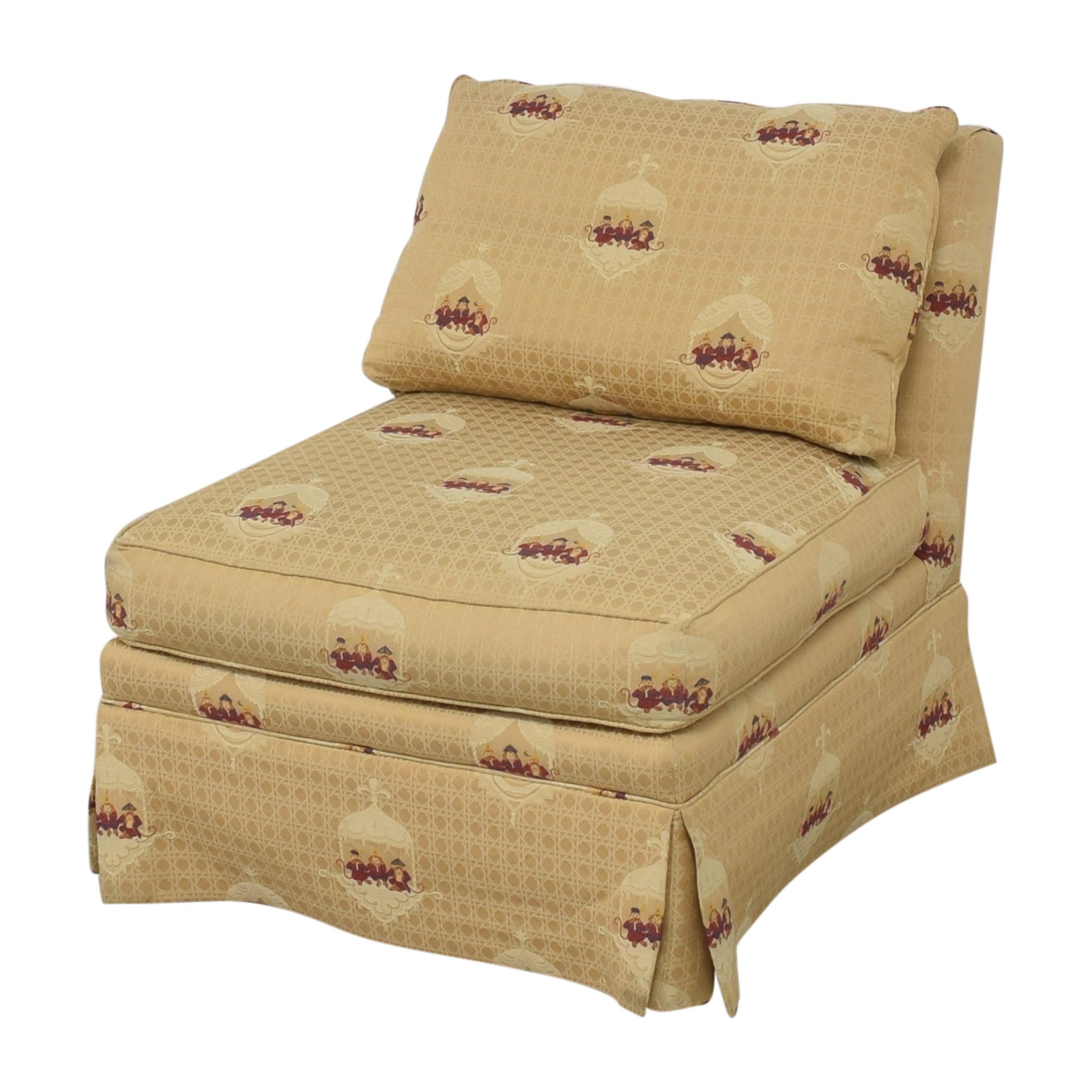 Sherrill Furniture Sherrill Brand Skirted Slipper Chair price