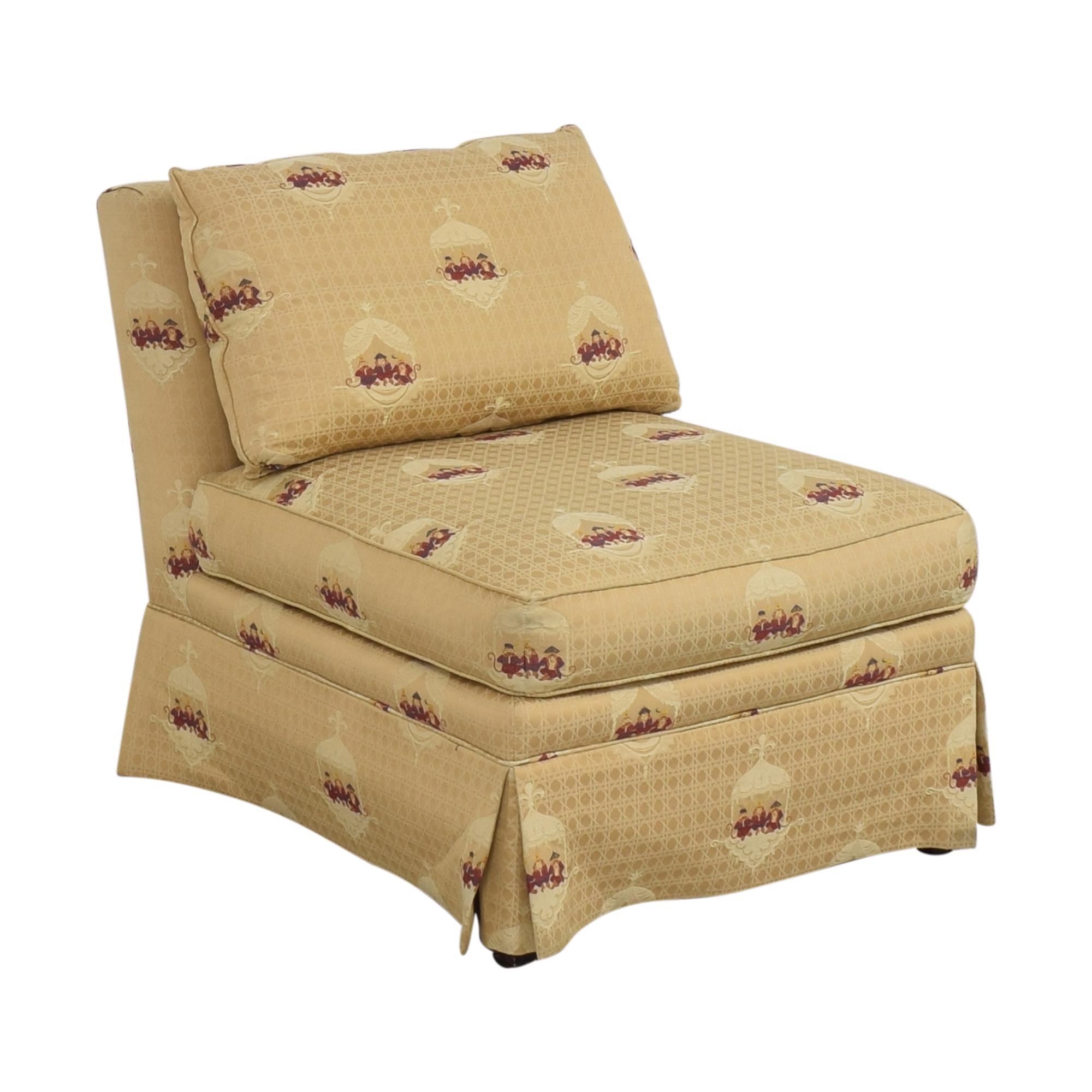 shop Sherrill Furniture Sherrill Brand Skirted Slipper Chair online