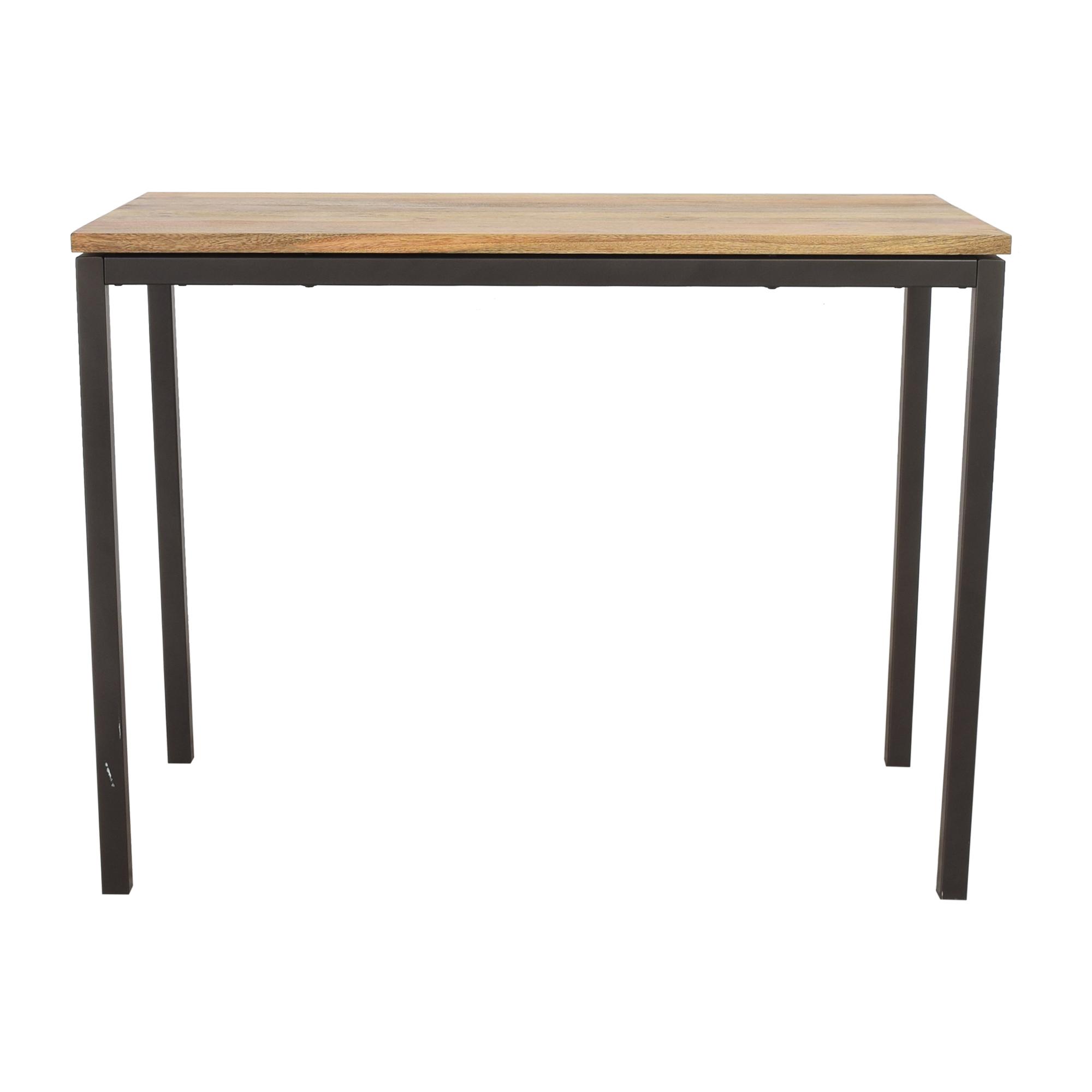 buy West Elm Box Frame Counter Table West Elm Dinner Tables