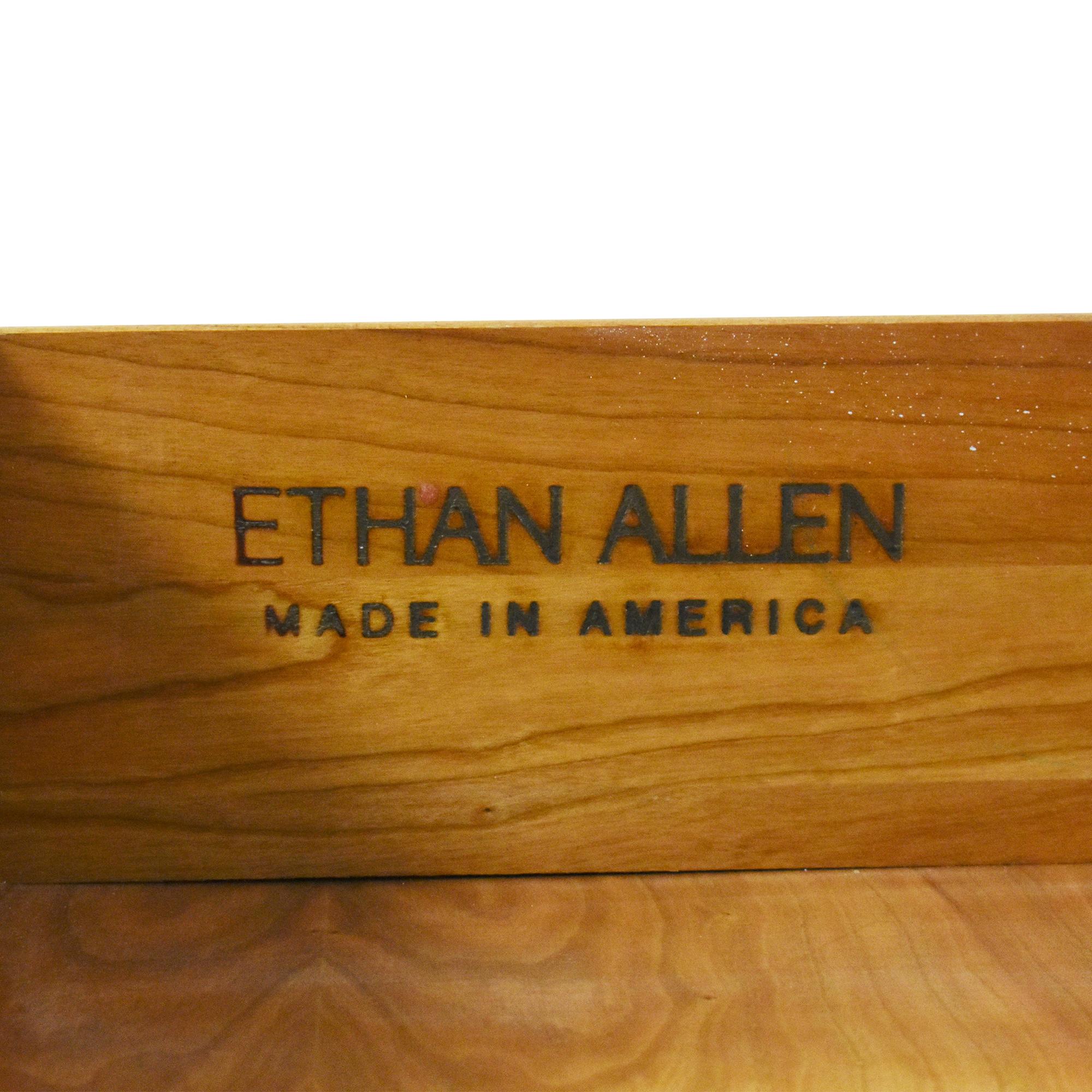 buy Ethan Allen Three Drawer Nightstand Ethan Allen Tables