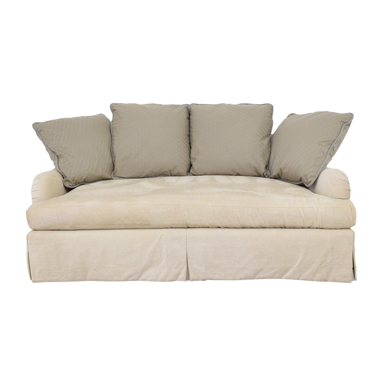 Kisabeth Kisabeth English Roll Arm Sofa ct