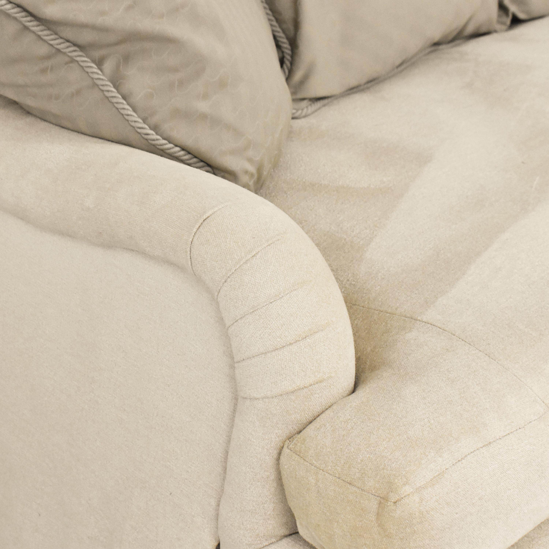 Kisabeth Kisabeth English Roll Arm Sofa