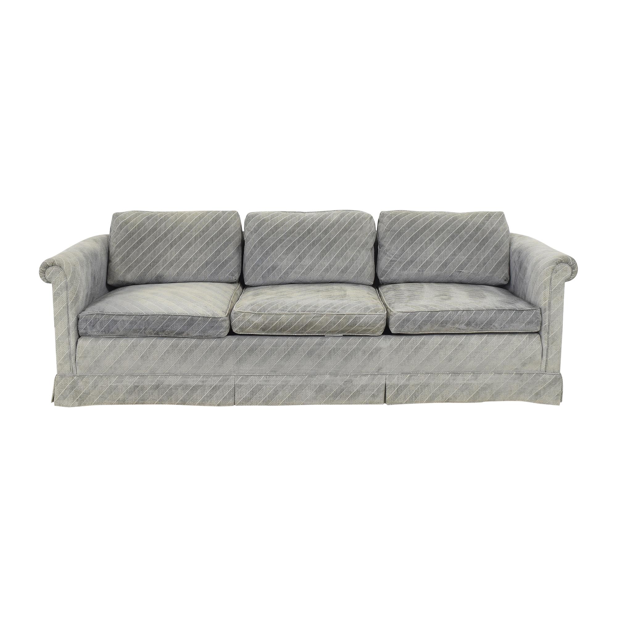 buy Baker Furniture Historic Charleston Roll Arm Sofa Baker Furniture Classic Sofas